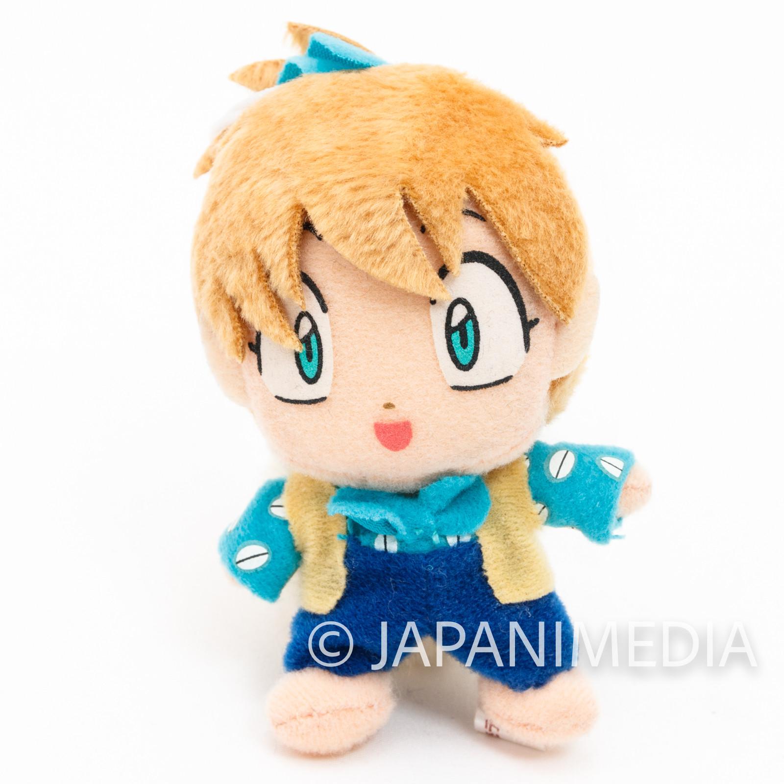 "RARE!! InuYasha Shippou Inuyasha Friends 3.5"" Mini Plush Doll JAPAN ANIME NO BOX"