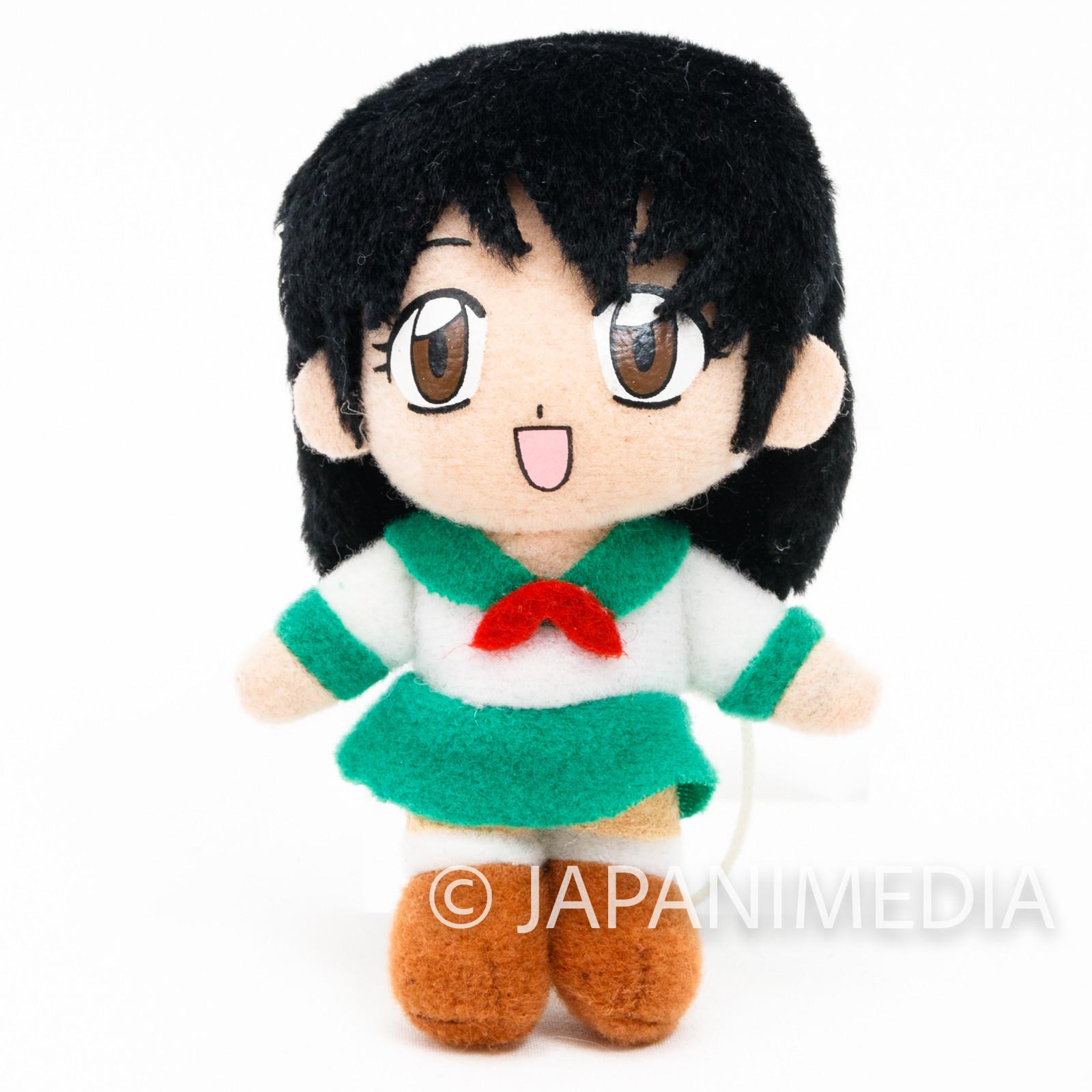RARE!! InuYasha Kagome Higurashi Mini Plush Doll JAPAN ANIME MANGA