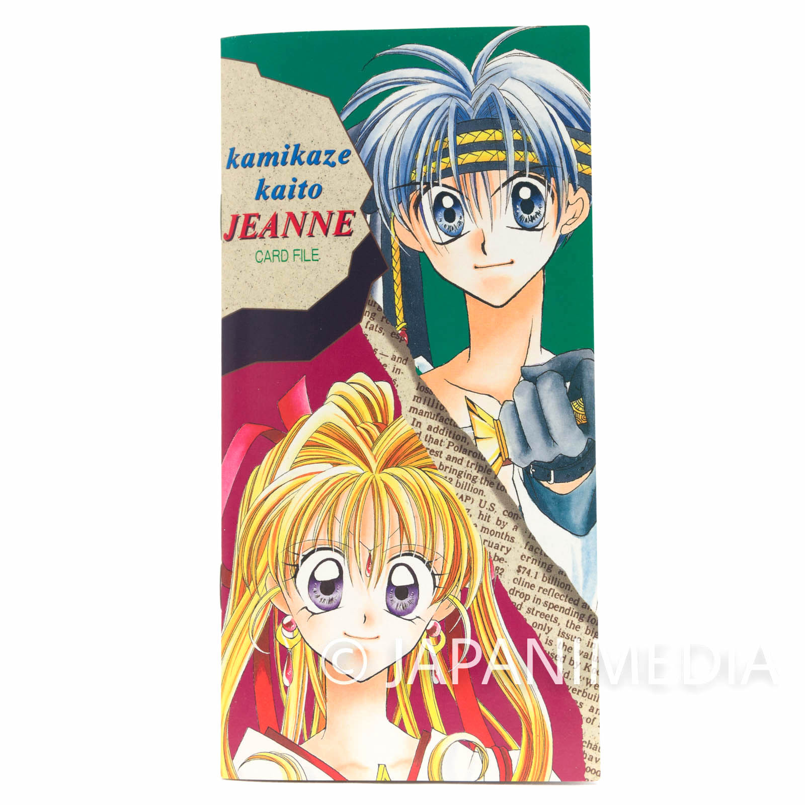 Kamikaze Kaitou Jeanne Card File Ribon JAPAN ANIME