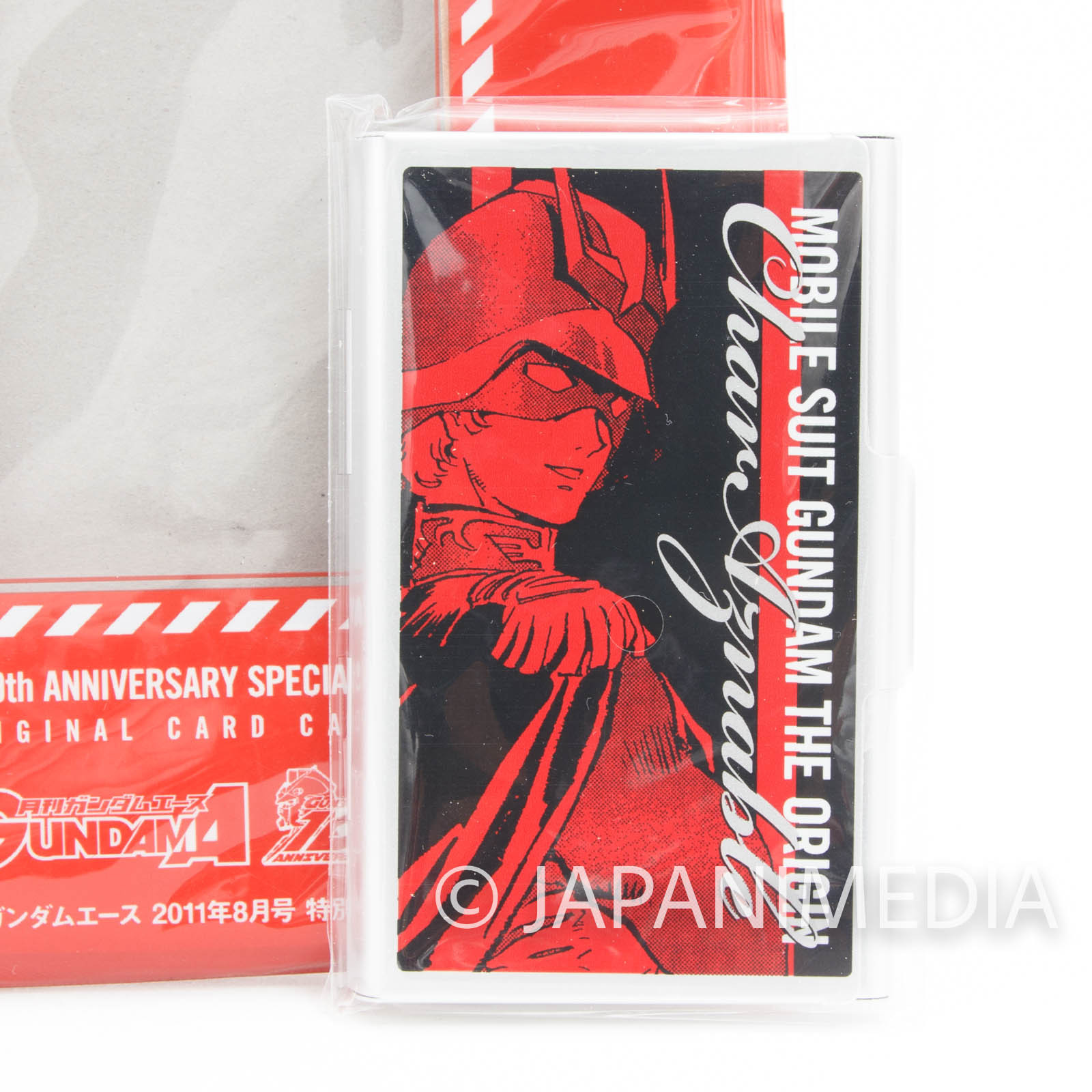 Mobile Suit Gundam The Origin Char Aznable Original Business card case JAPAN ANIME