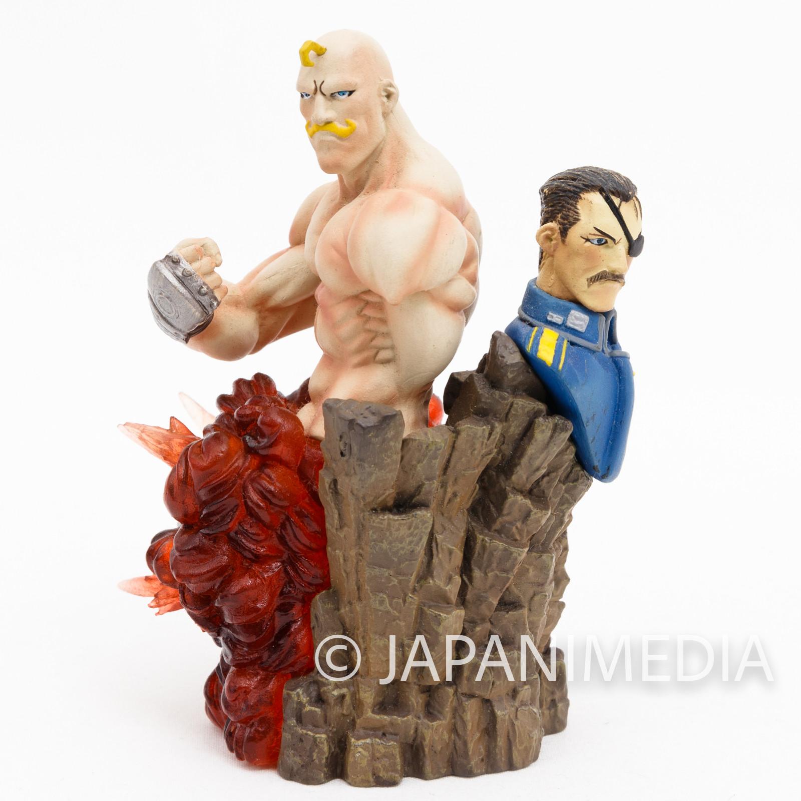Fullmetal Alchemist Mini Diorama Figure Alex Louis Armstrong & King Bradley
