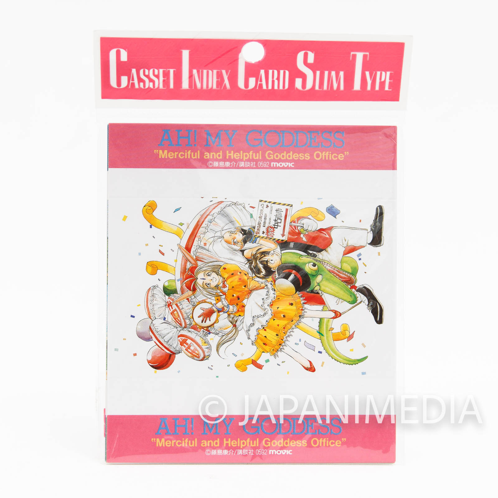 Ah! My Goddess Cassette Index Card 11 Sheet + 5 Sheet JAPAN ANIME MANGA