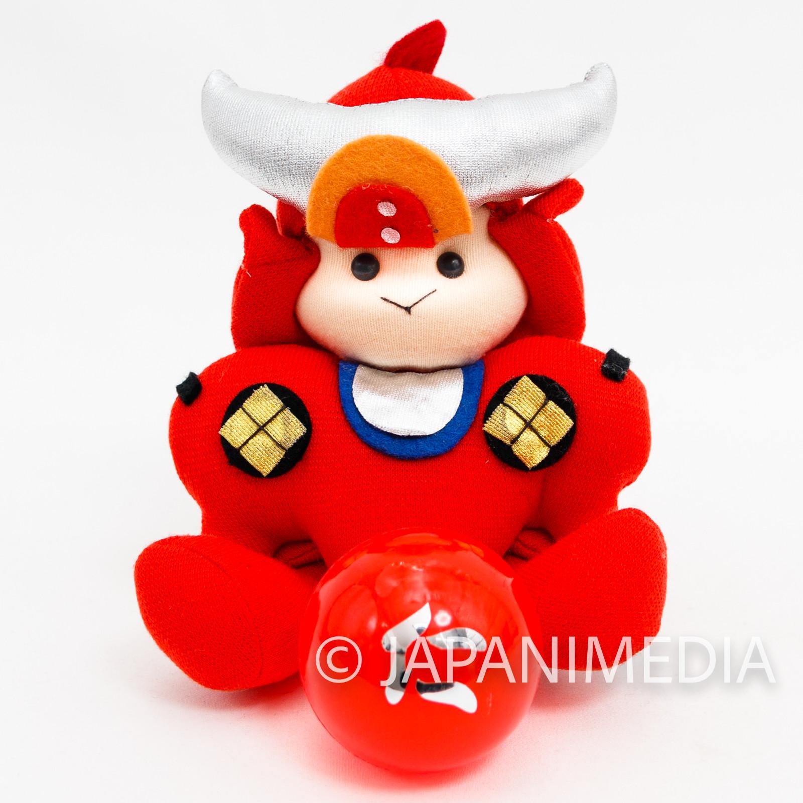 RARE!! Ronin Warriors Samurai Troopers Ryo of the Wildfire Plush Doll