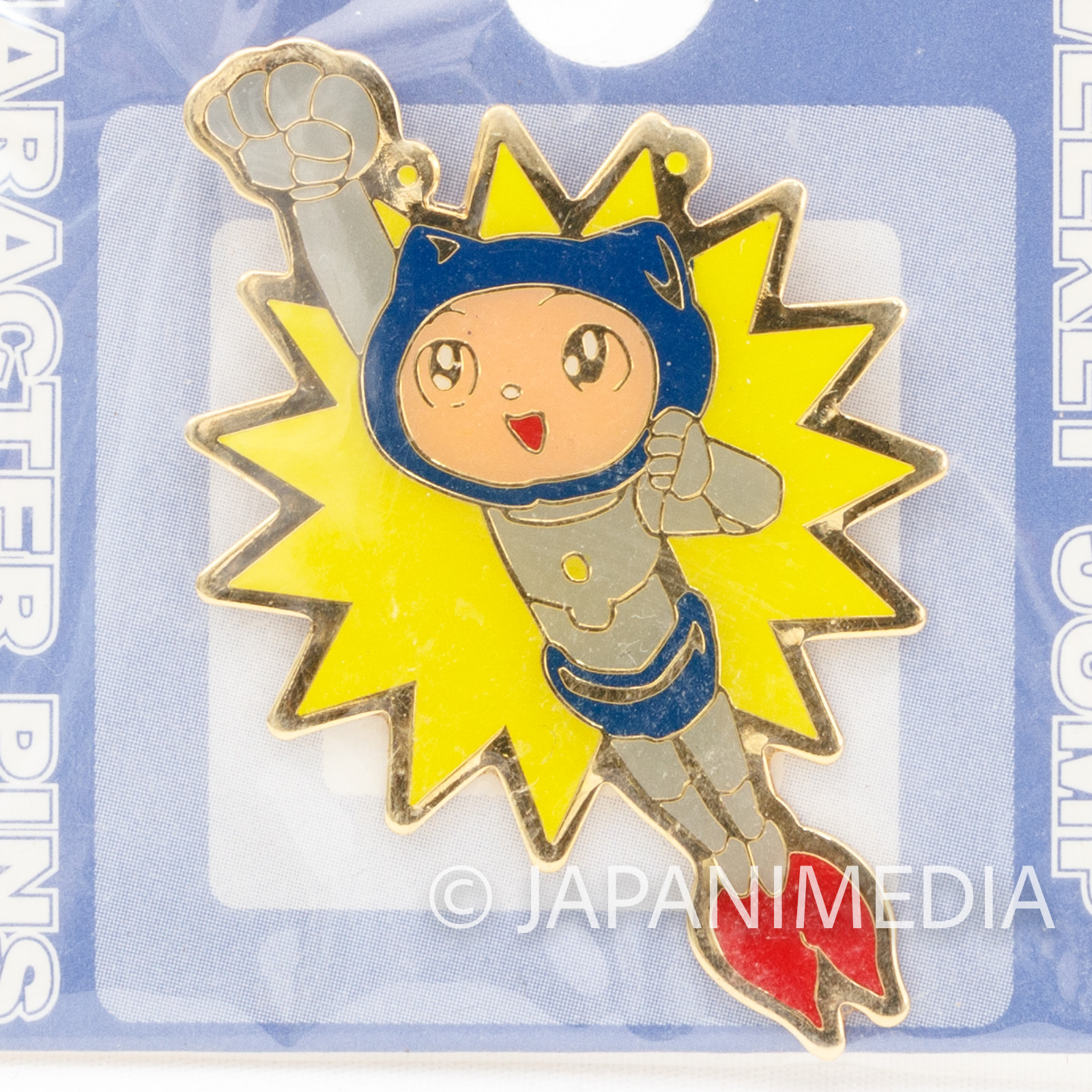 RARE! Pyu to Fuku! Jaguar Hamidento Metal Pins Shueisha Shonen Jump JAPAN MANGA