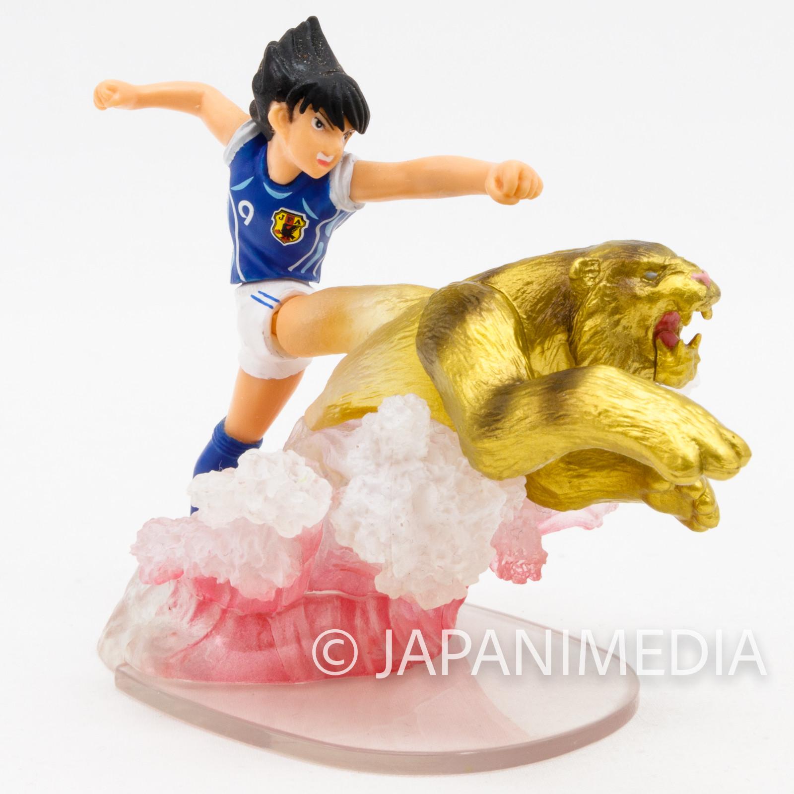 Captain Tsubasa Kojiro Hyuga Tiger Shot Mini Figure JAPAN ANIME