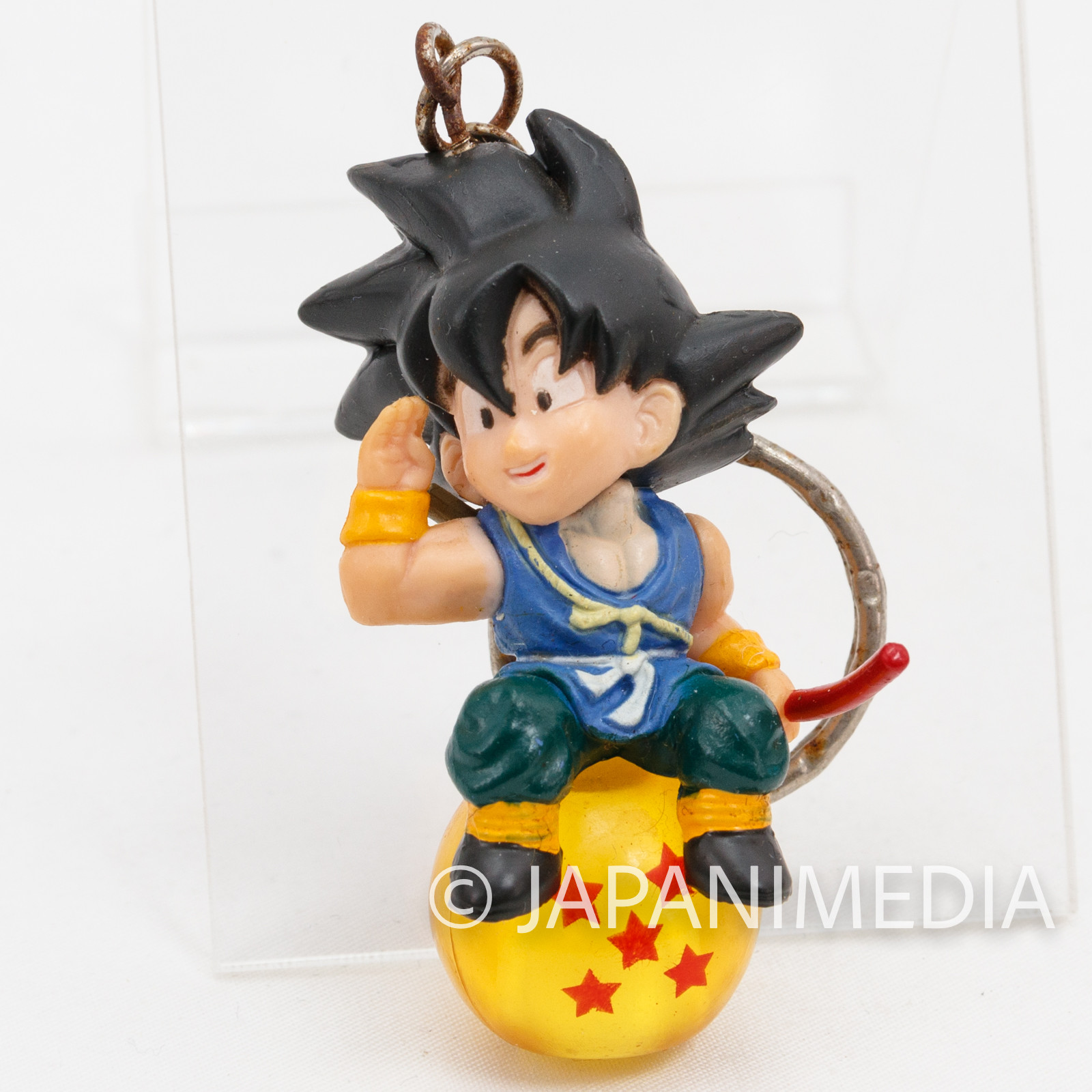 Dragon Ball Z Son Gokou Chara Petit Figure Key Chain JAPAN ANIME MANGA