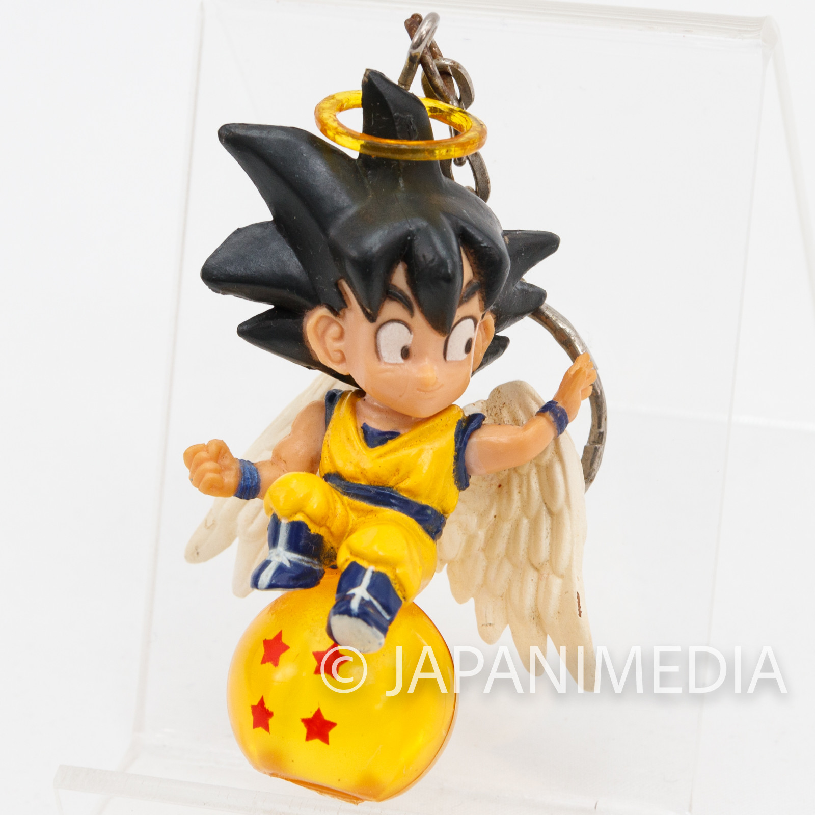 Dragon Ball Z Son Gokou Angel Chara Petit Figure Key Chain JAPAN ANIME MANGA