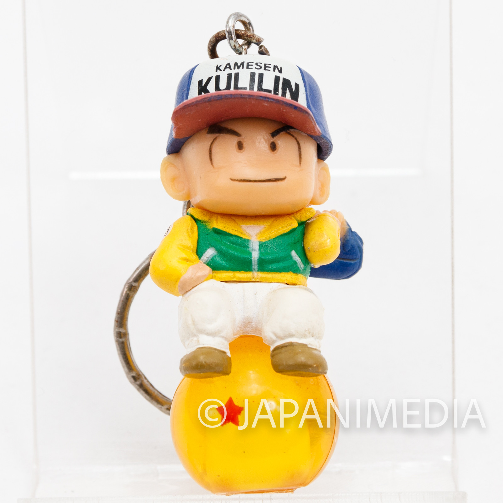 Dragon Ball Z Krillin Chara Petit Figure Key Chain JAPAN ANIME MANGA