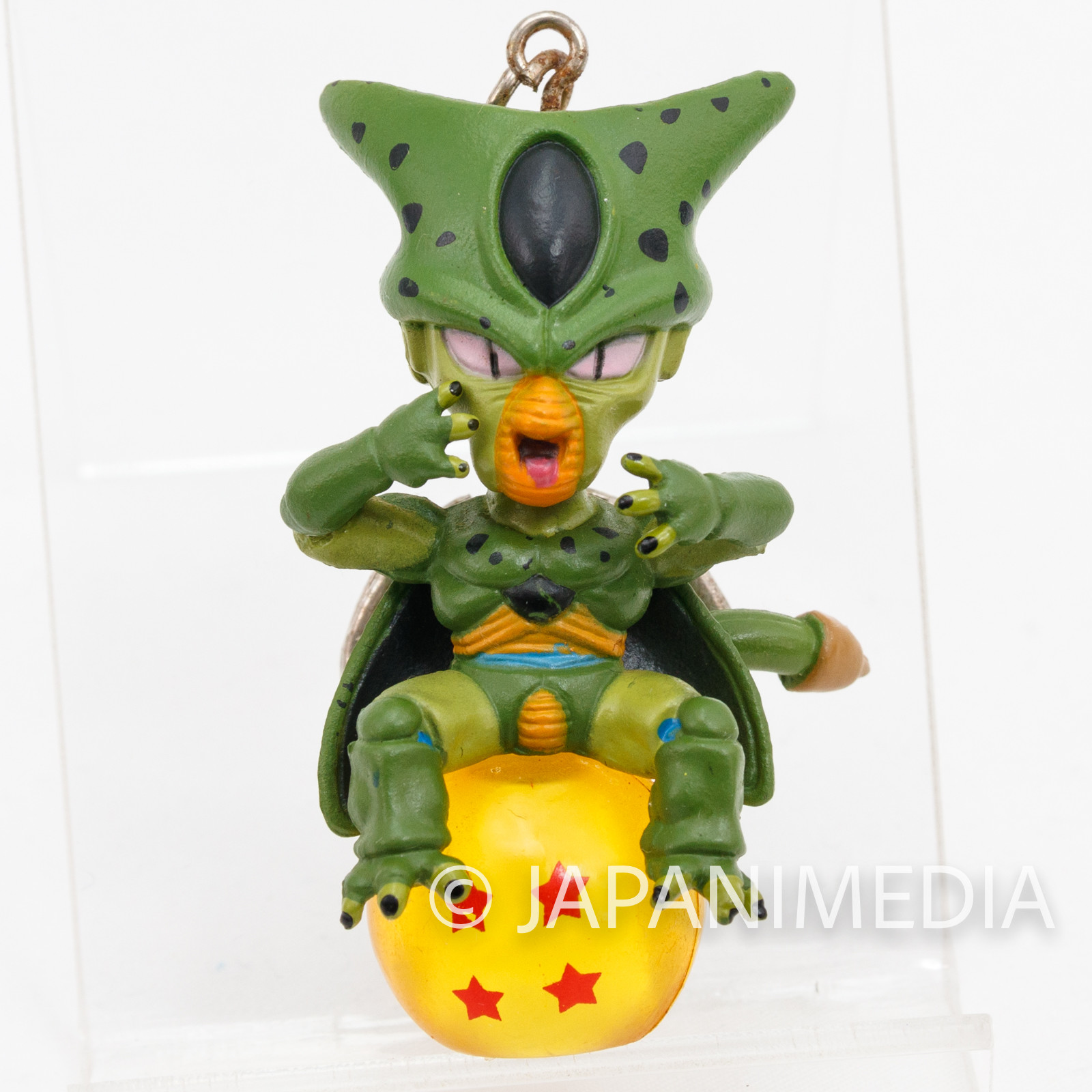 Dragon Ball Z Cell First Form Chara Petit Figure Key Chain JAPAN ANIME MANGA