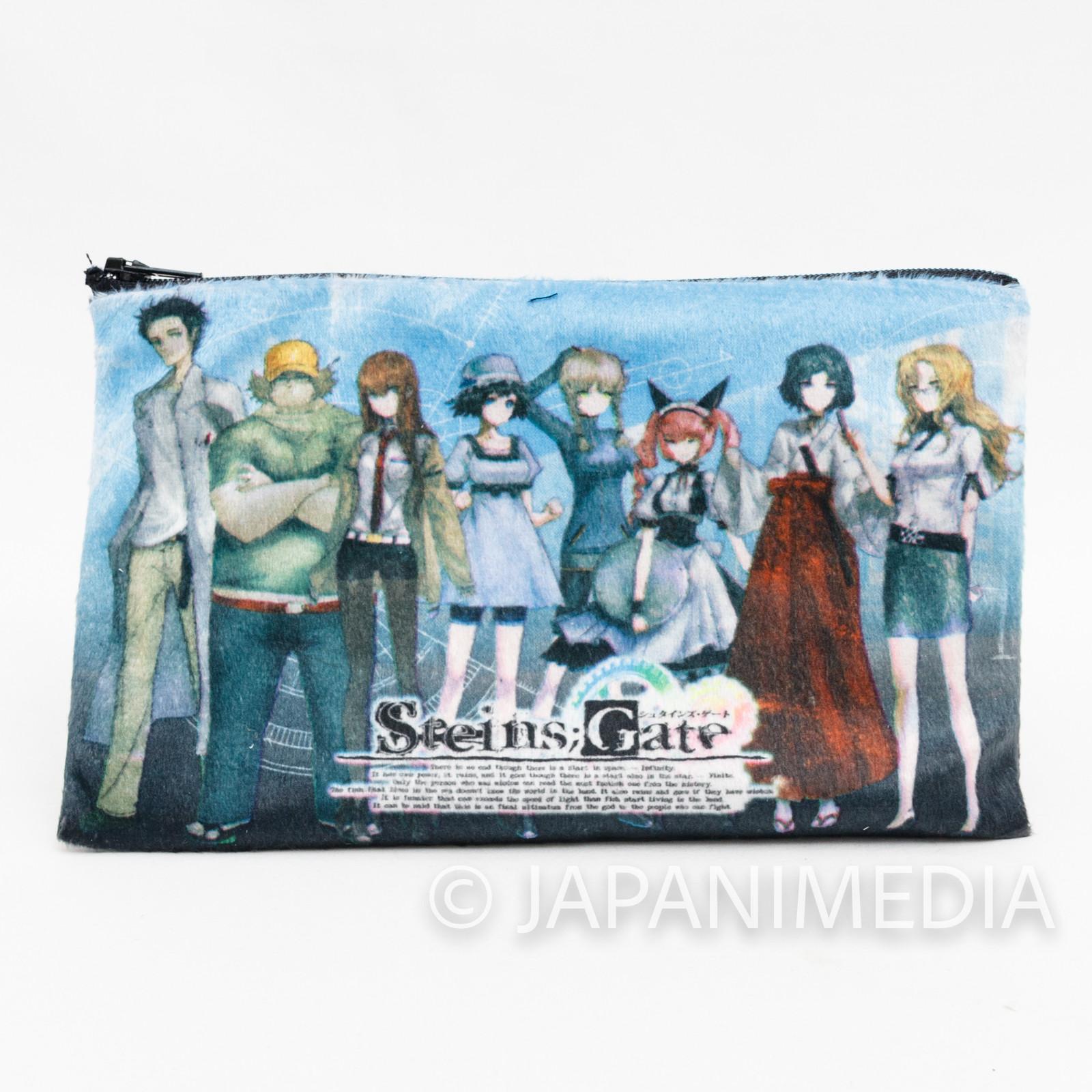 Steins ; Gate Kurisu Mayuri Okarin Pouch mini bag Taito Kuji JAPAN ANIME NO BOX