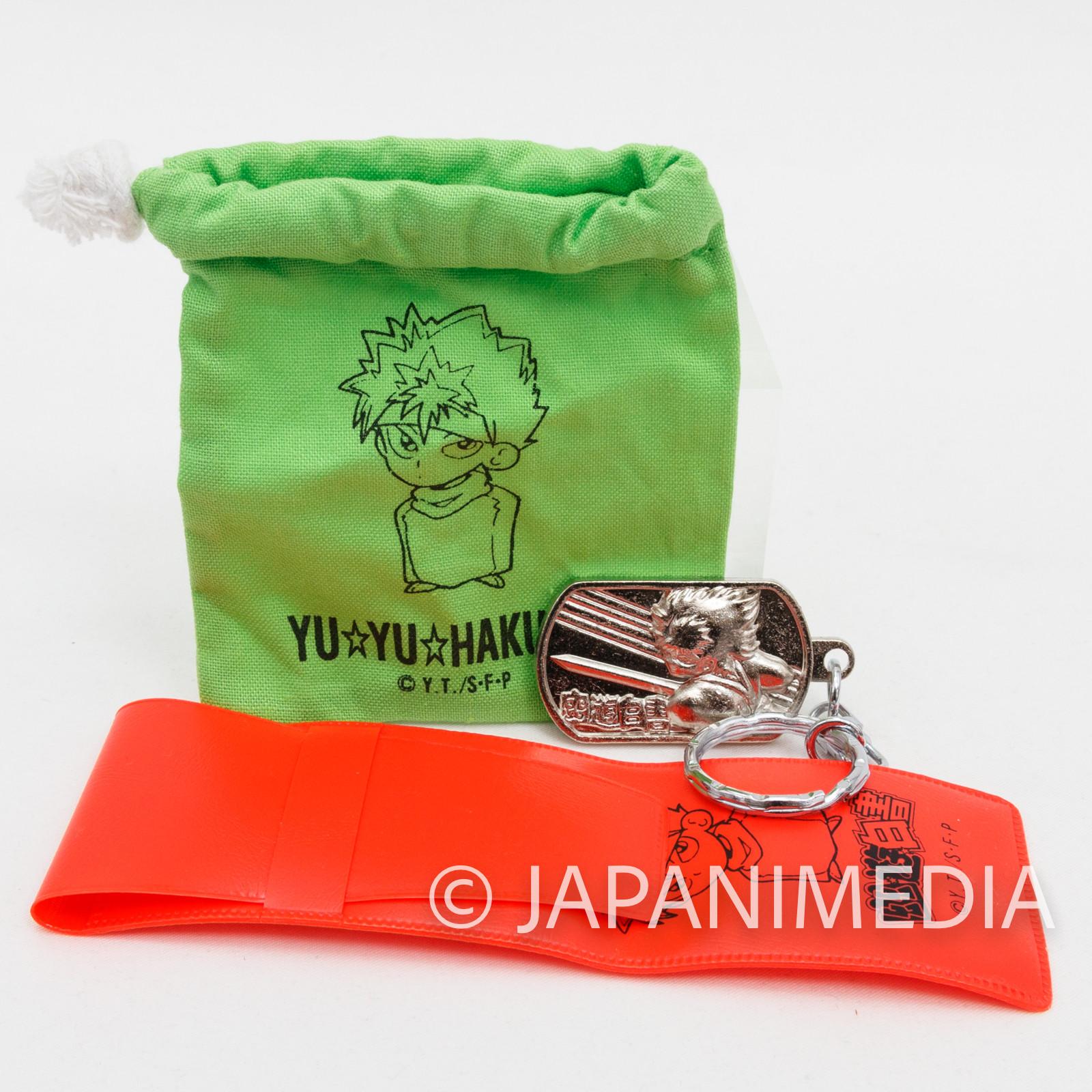 Yu Yu Hakusho Hiei Goods 3pc Set JAPAN ANIME MANGA