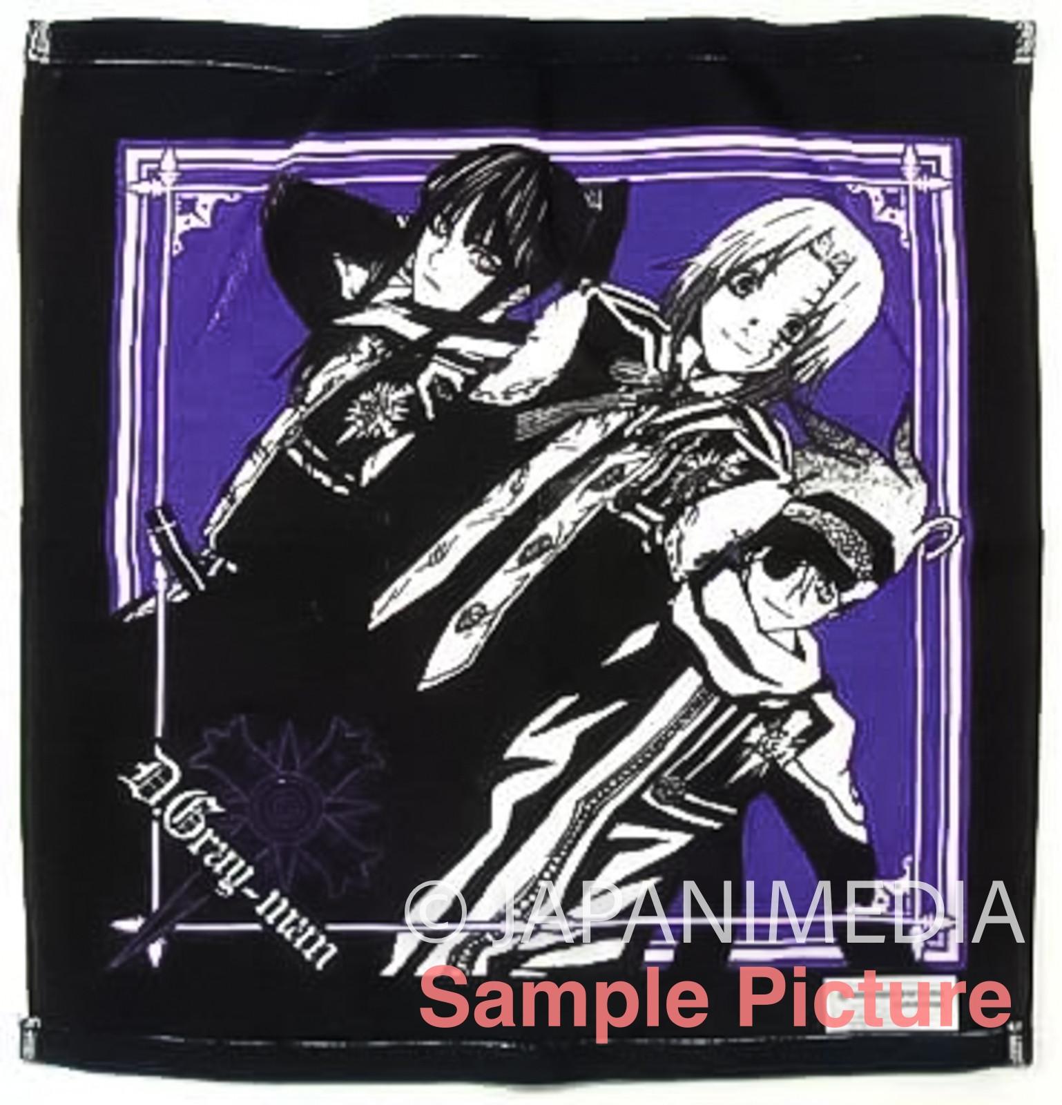 D.Gray-Man Allen Walker Kanda Lavi Hand Towel Shueisha Shonen Jump JAPAN