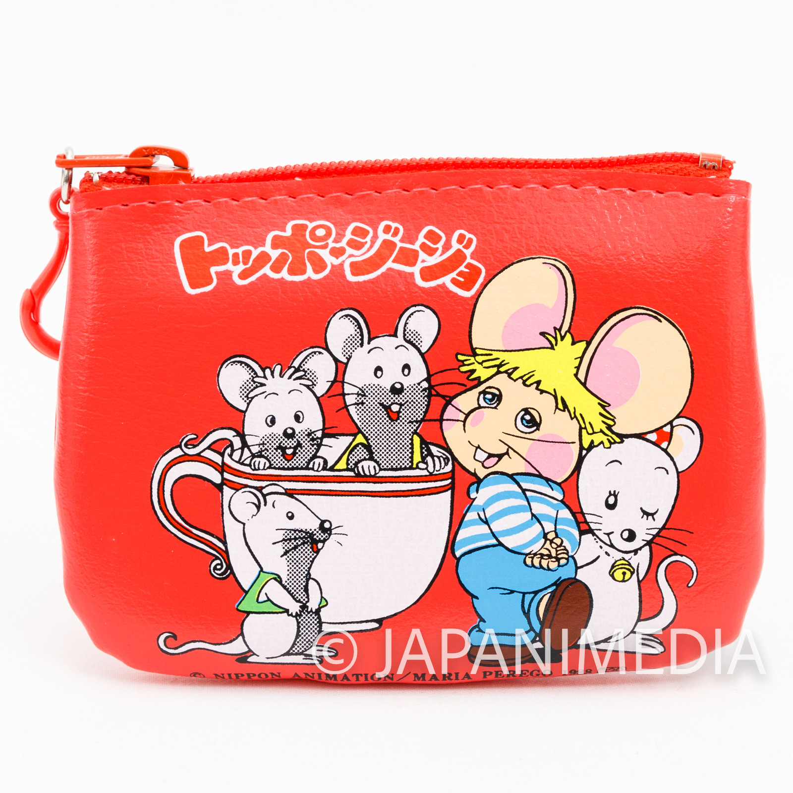 Topo Gigio Purse Coin Case #2 JAPAN ANIME Japanese Animation