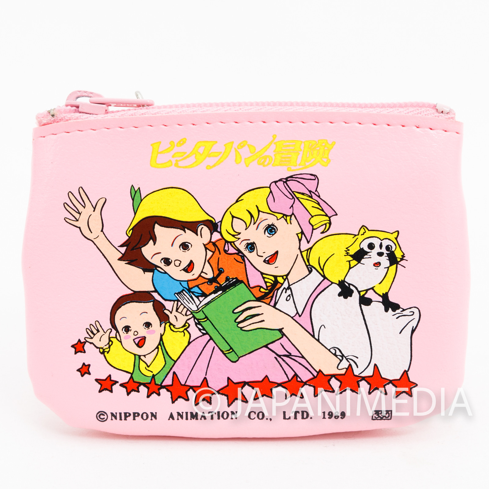 Adventures of Peter Pan World Masterpiece Theater Coin Case JAPAN ANIME