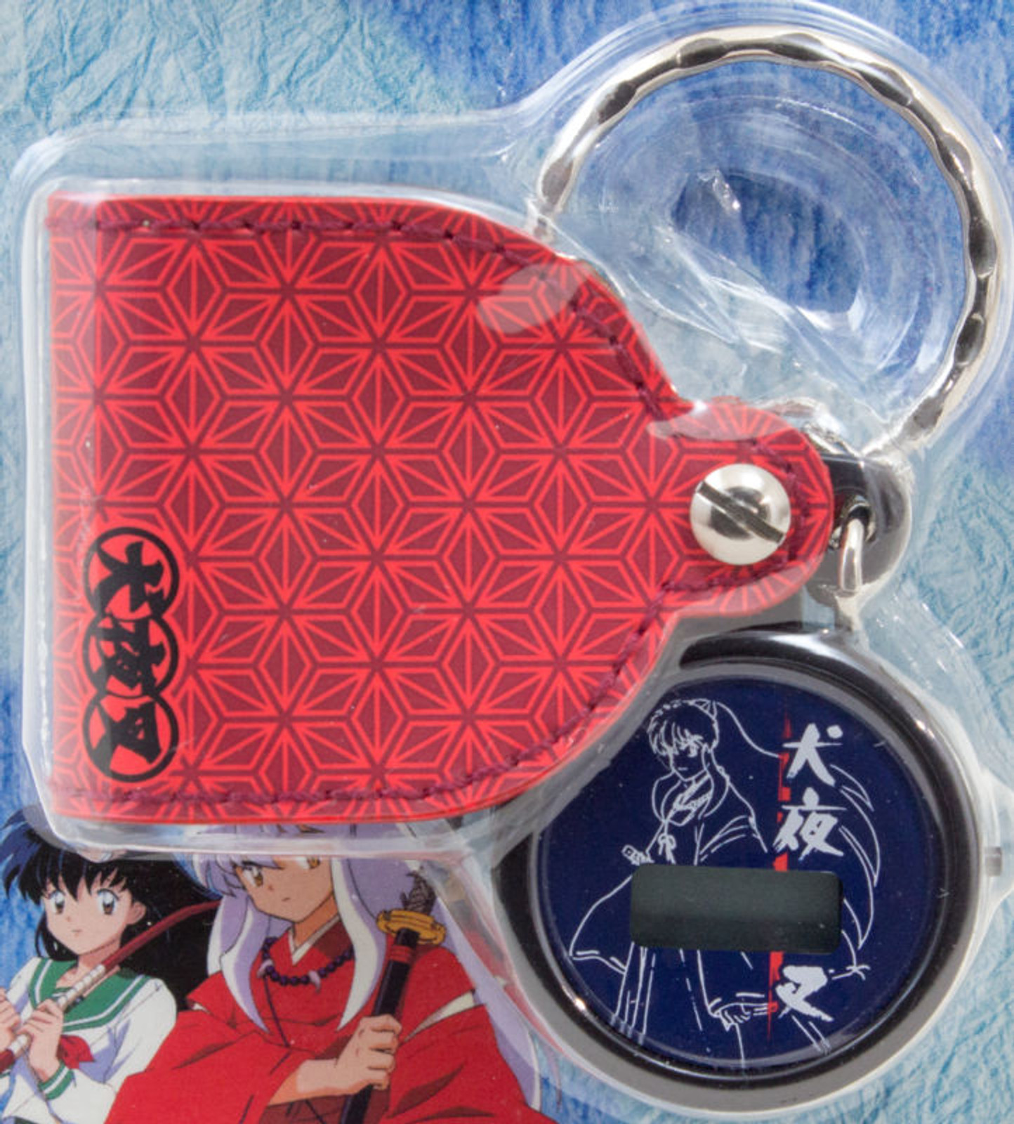 InuYasha Pocket Digital Watch Keychain Banpresto JAPAN ANIME MANGA RUMIKO