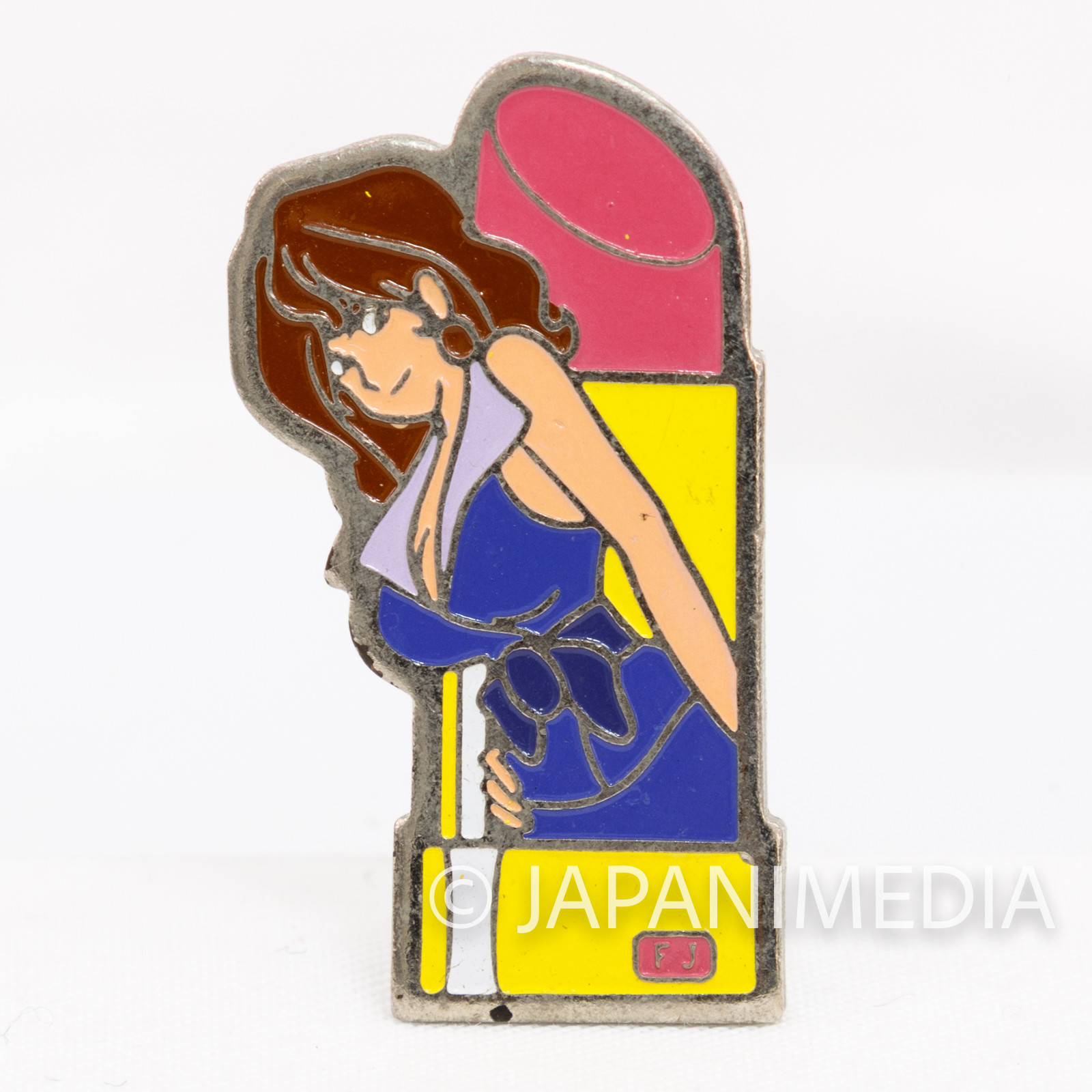 Lupin the Third (3rd) Fujiko Mine Metal Pins JAPAN ANIME 3