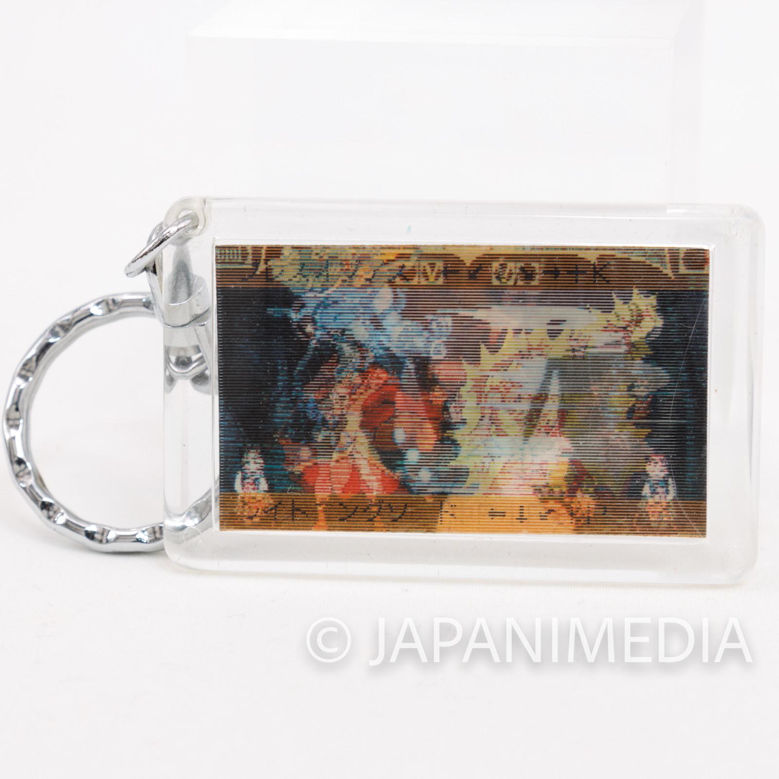 Darkstalkers (Vampire) Donovan Baine Hologram Picture Plate Keychain Capcom JAPAN