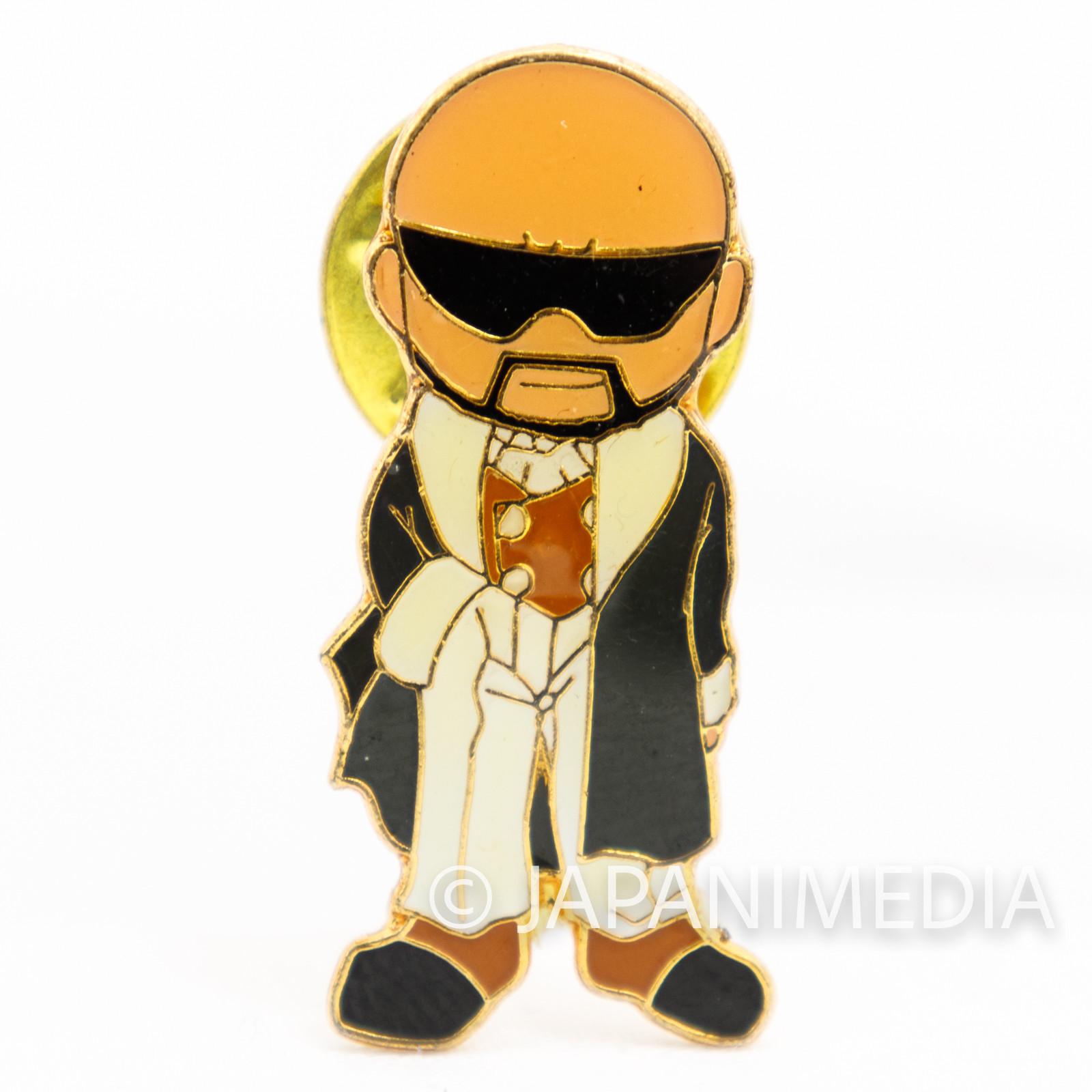 KOF King of Fighters Mr. Big Small Metal Pins JAPAN SNK
