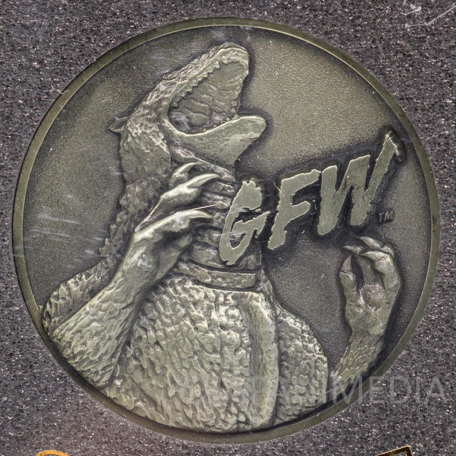 Godzilla Final Wars Movie 2004 Memorial Medal Toho JAPAN TOKUSATSU