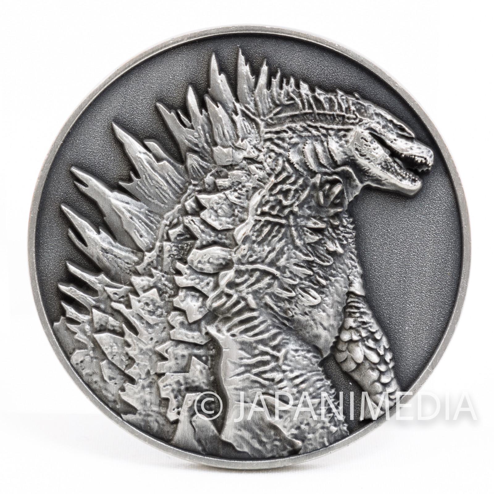 Godzilla Movie 2014 Memorial Medal Toho JAPAN TOKUSATSU
