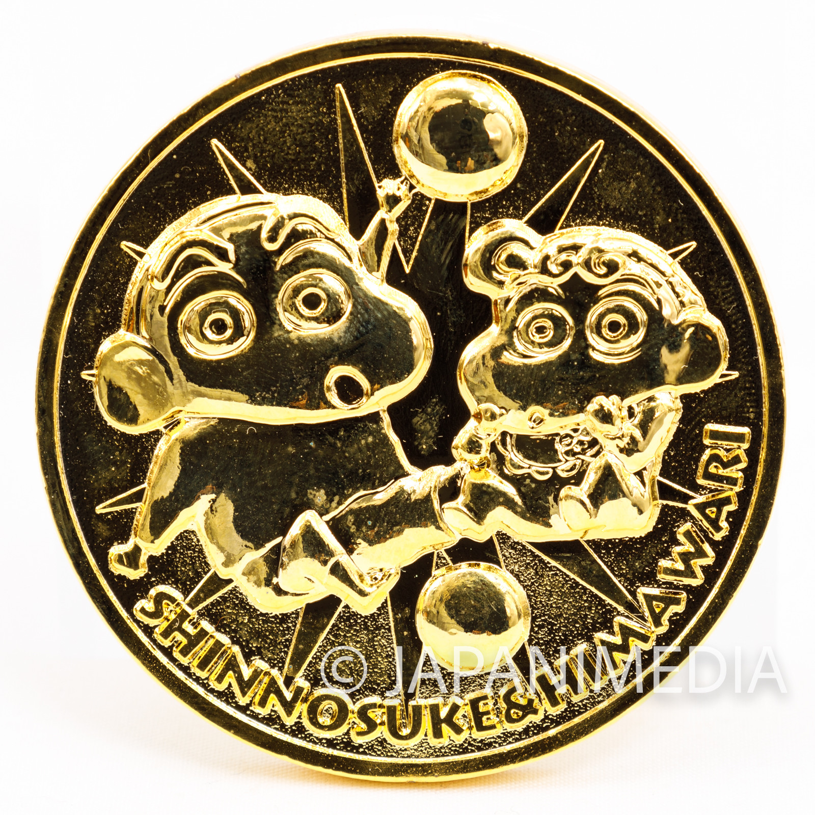 Crayon Shin-chan Ankoku Tamatama Daitsuiseki Movie 1997 Memorial Medal JAPAN