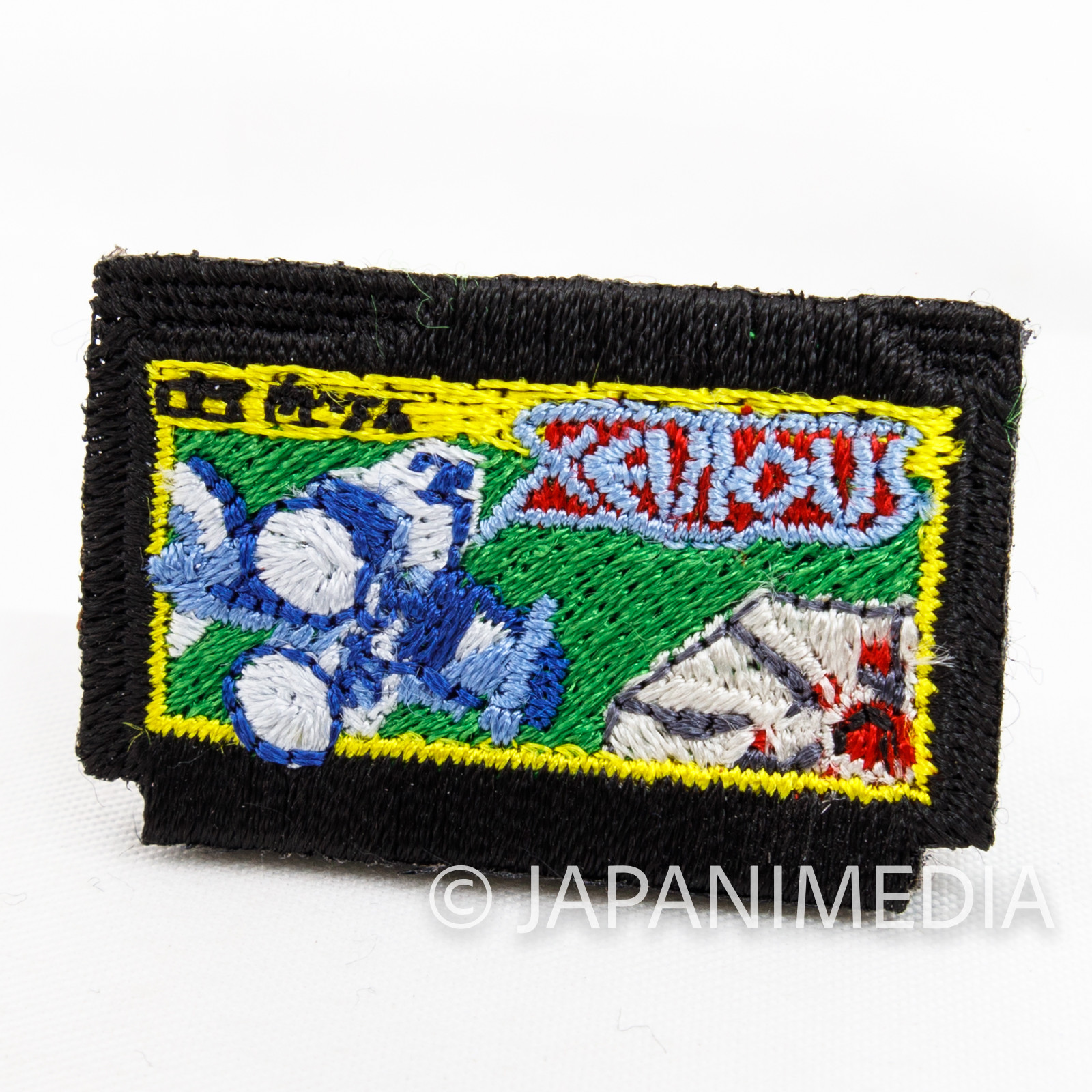 RARE! Xevious Famicom Cassette type Small Embroidery Pins Namco TOKYO PIXEL