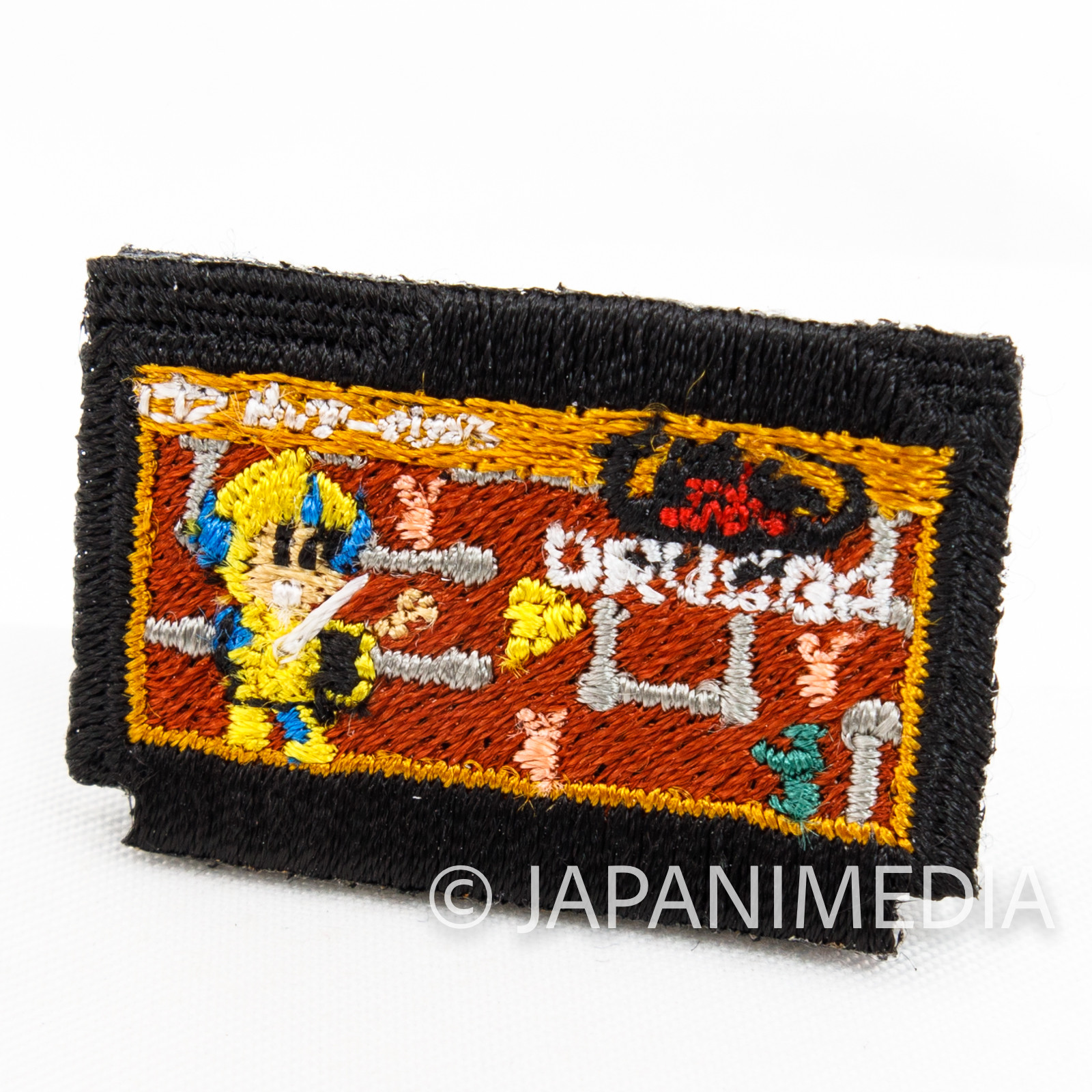 RARE! Tower of Druaga Famicom Cassette type Small Embroidery Pins TOKYO PIXEL