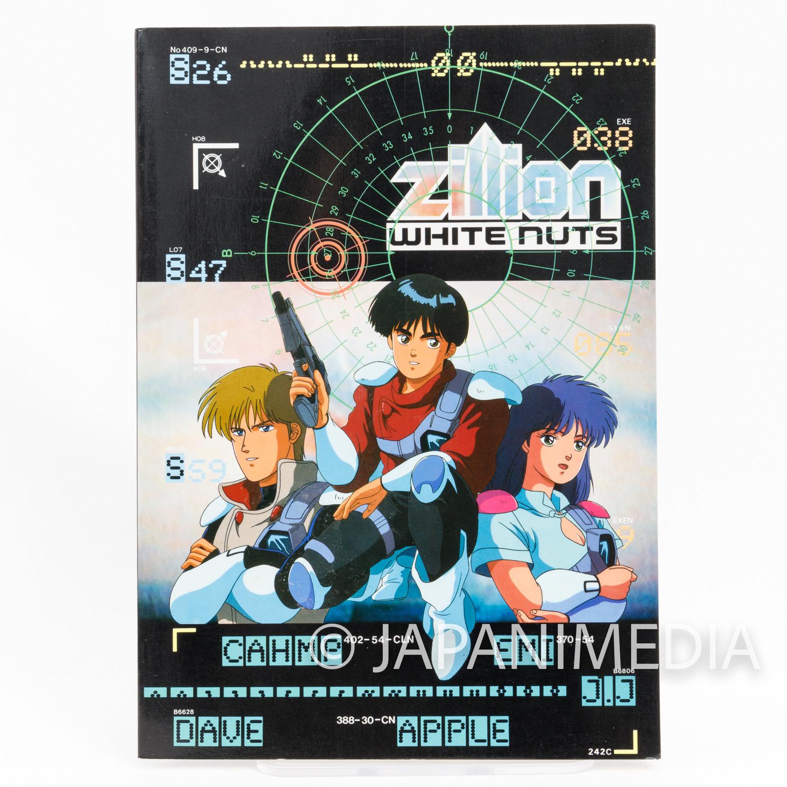 Red Photon Zillion Notebook Movic JAPAN ANIME