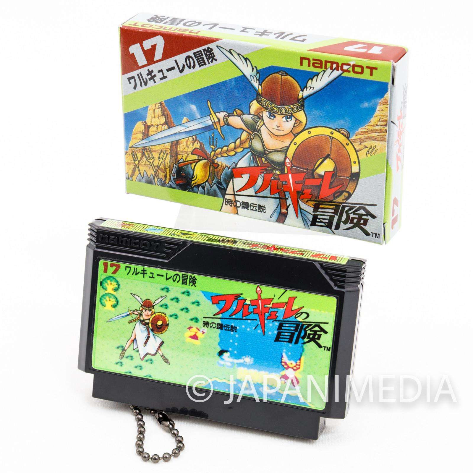 Valkyrie no Boken Namco Cassette Type Mascot Ballchain JAPAN FAMICOM NEC