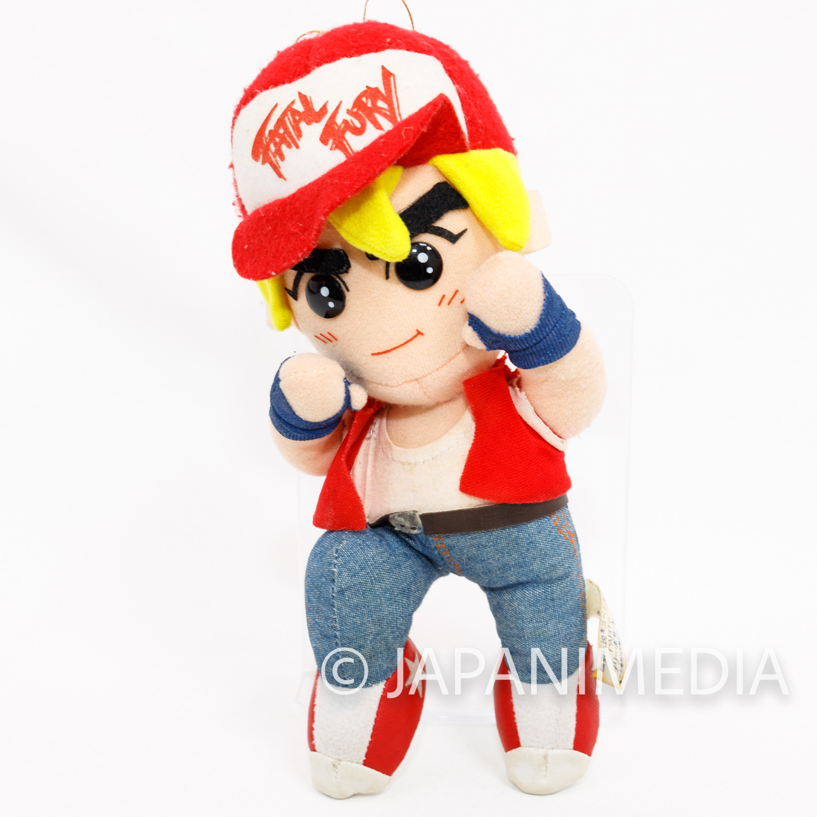 Fatal Fury Special Terry Bogard Plush Doll Takara SNK JAPAN 2