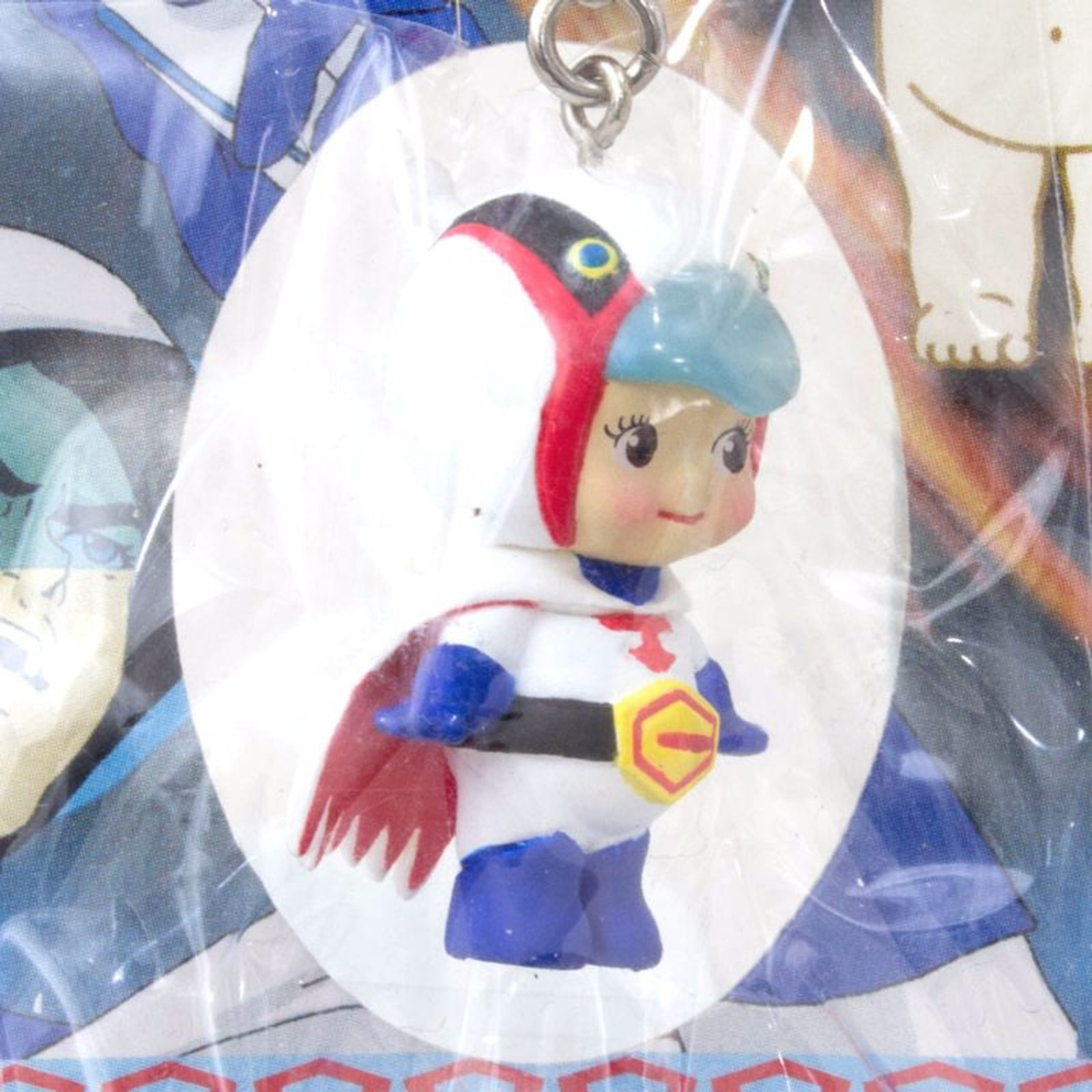 Gatchaman Rose O'neill Kewpie Kewsion Figure Strap JAPAN ANIME