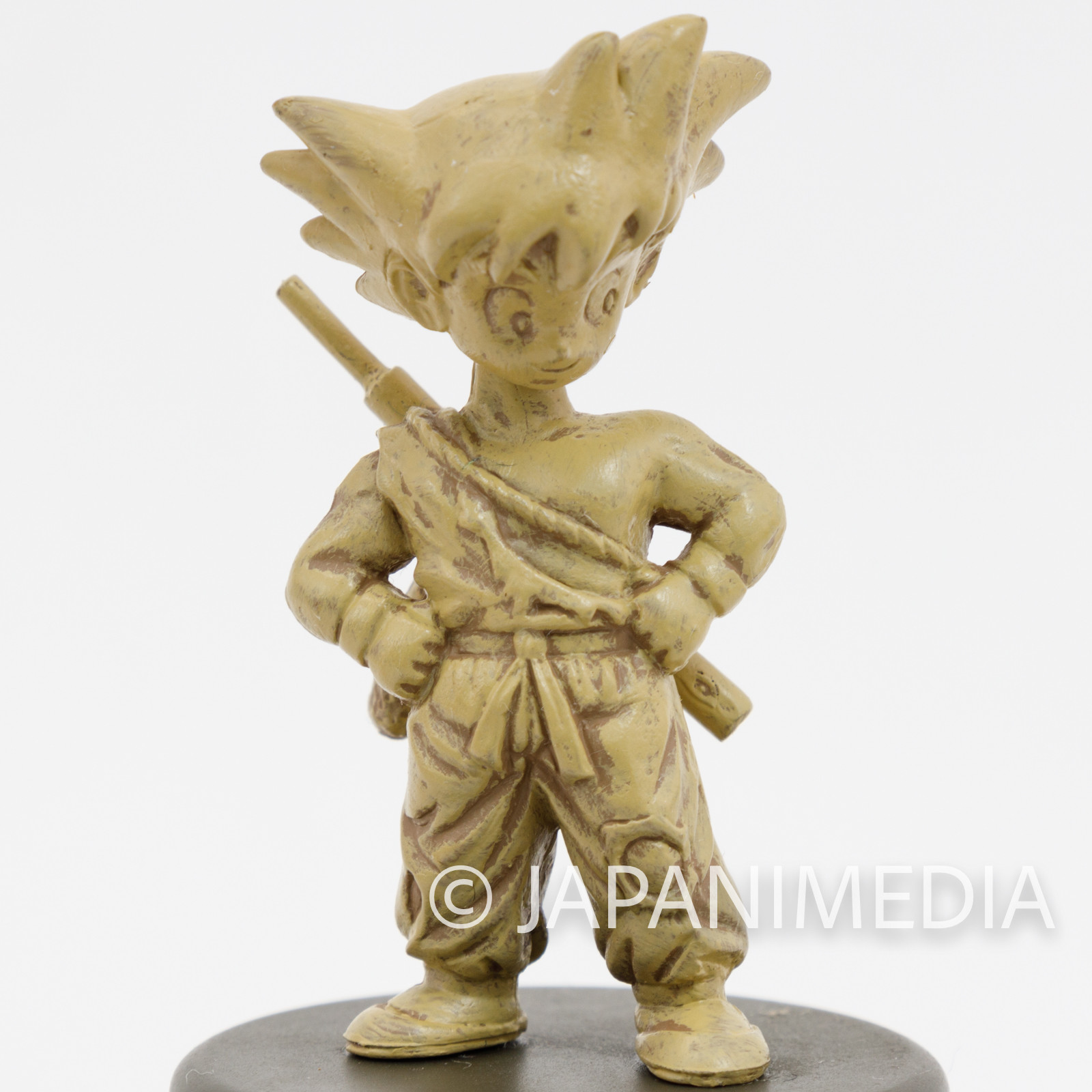 Dragon Ball Non-colored Miniature Figure Son Gokou Goku Boy