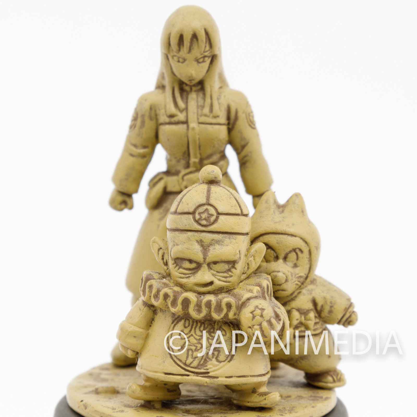 Dragon Ball Z Non-Colored Miniature Figure Pilaf family