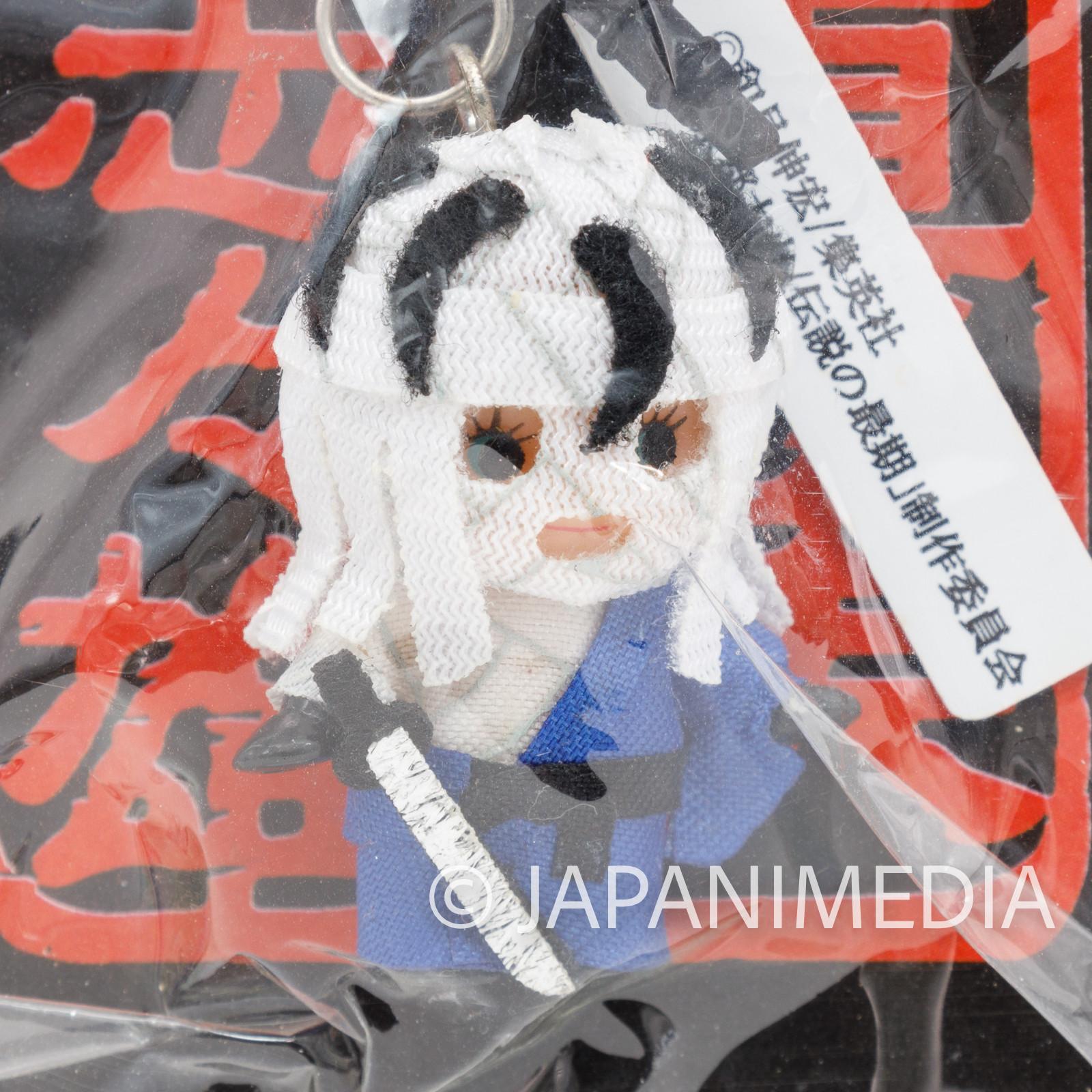 Rurouni Kenshin Shishio Makoto x Kewpie Figure Earphone Jack JAPAN ANIME