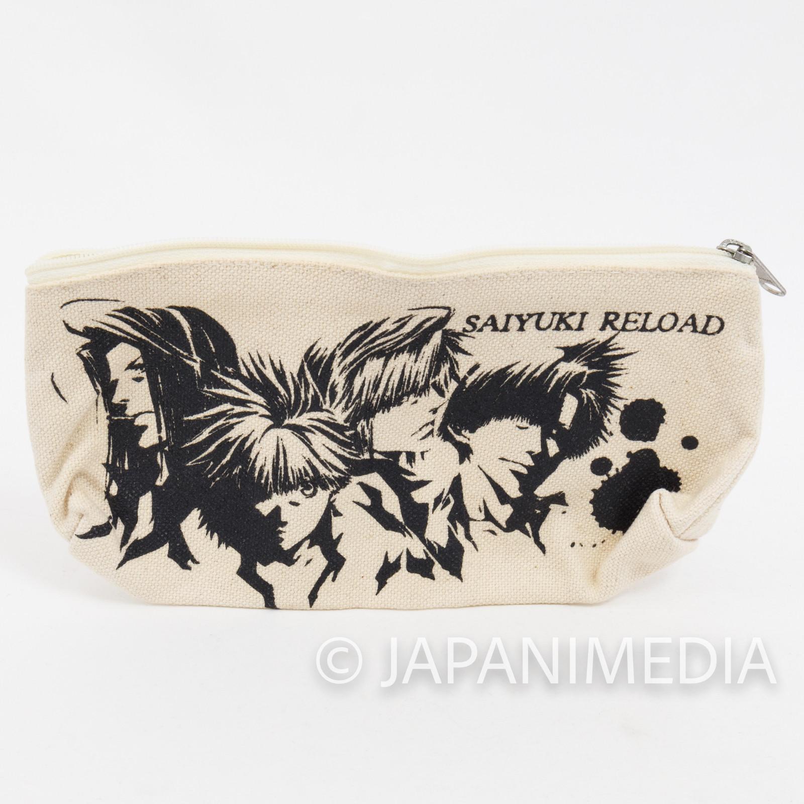 SAIYUKI Reload Soft Pen Case Kazuya Minekura JAPAN ANIME