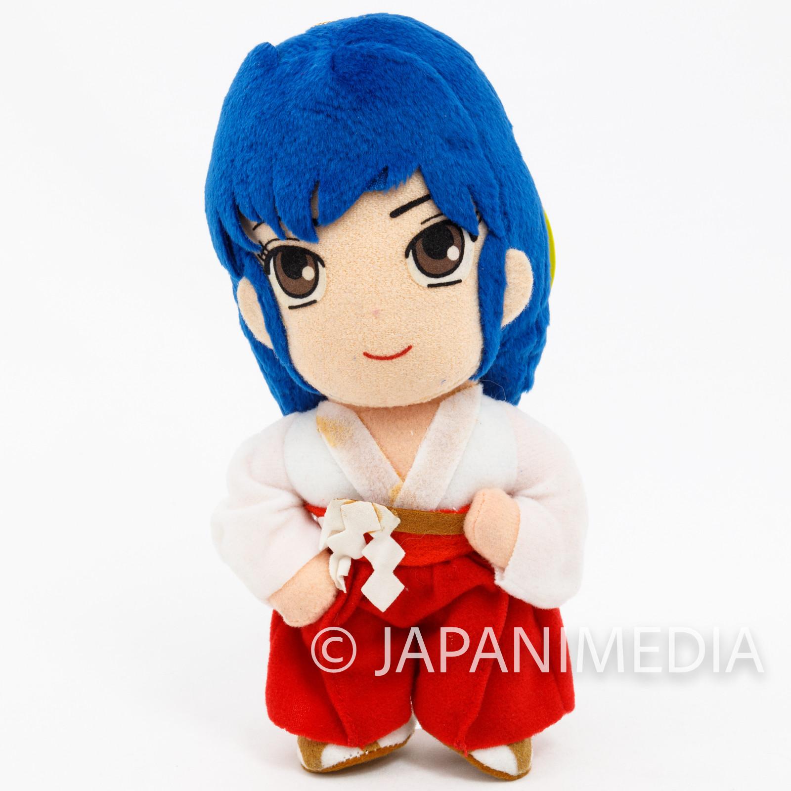 Retro RARE! Urusei Yatsura Teacher Sakura Plush Doll JAPAN ANIME MANGA