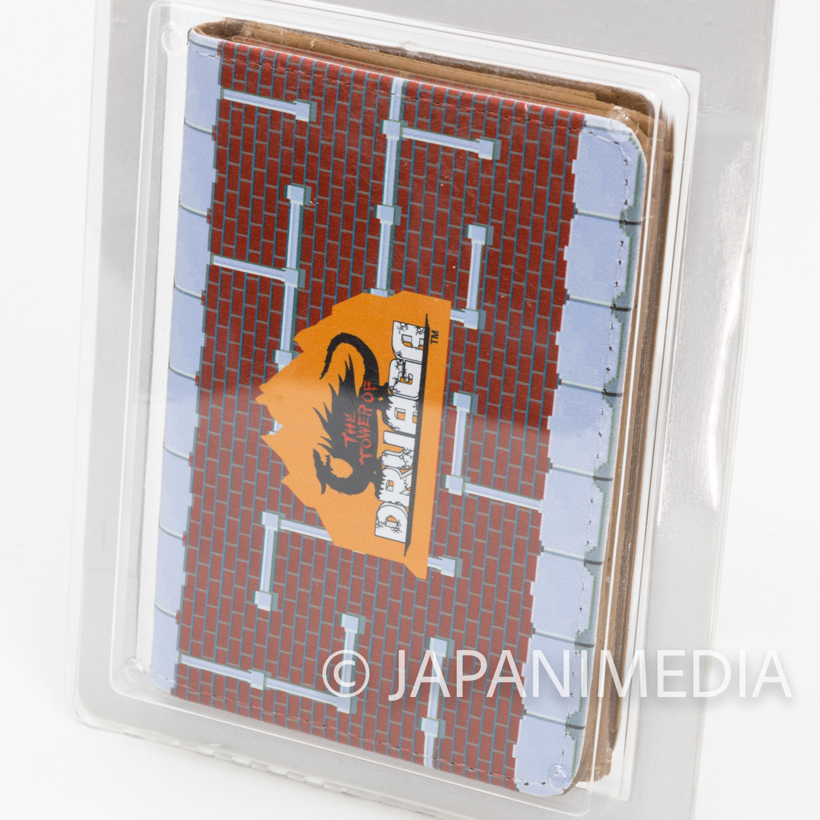 Tower of Druaga Synthetic Leather Card Case Holder JAPAN NAMCO FAMICOM