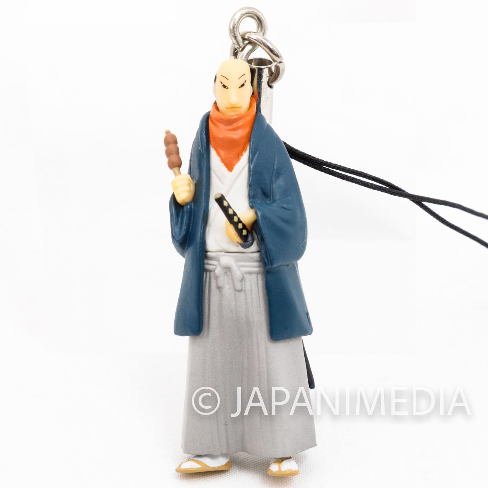 Takemitsu Zamurai Soichiro Seno Figure Strap Matsumoto Taiyo JAPAN ANIME