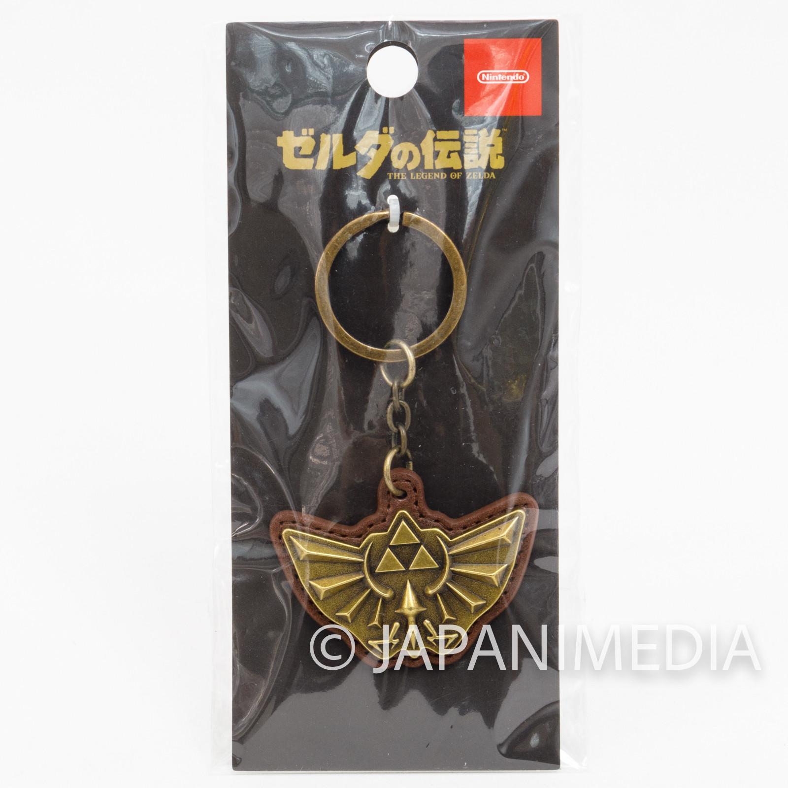 Legend of Zelda Hyrule Emblem Keychain NINTENDO JAPAN GAME NES