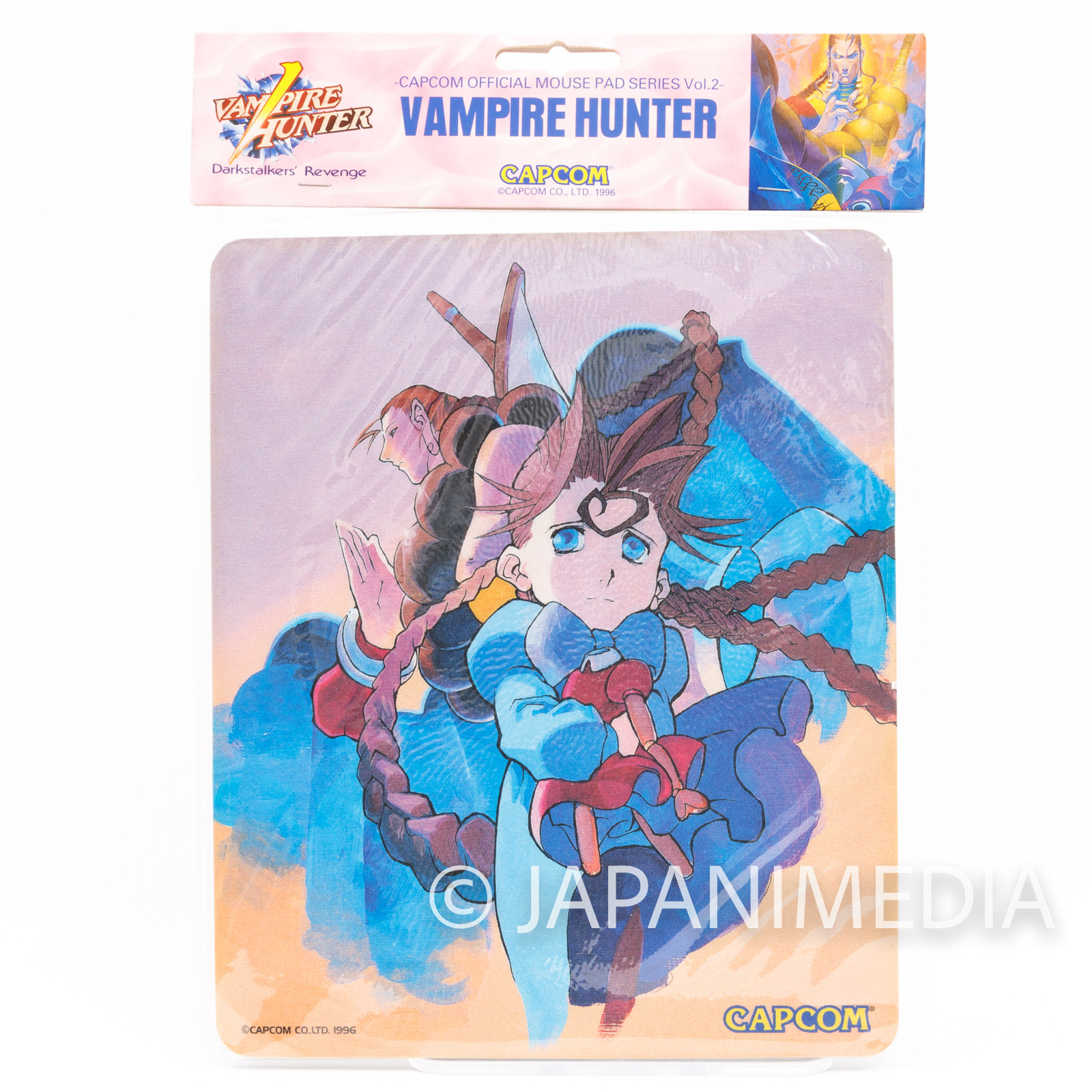 Darkstalkers (Vampire Hunter) Donovan Baine & Anita Mouse Pad Capcom JAPAN