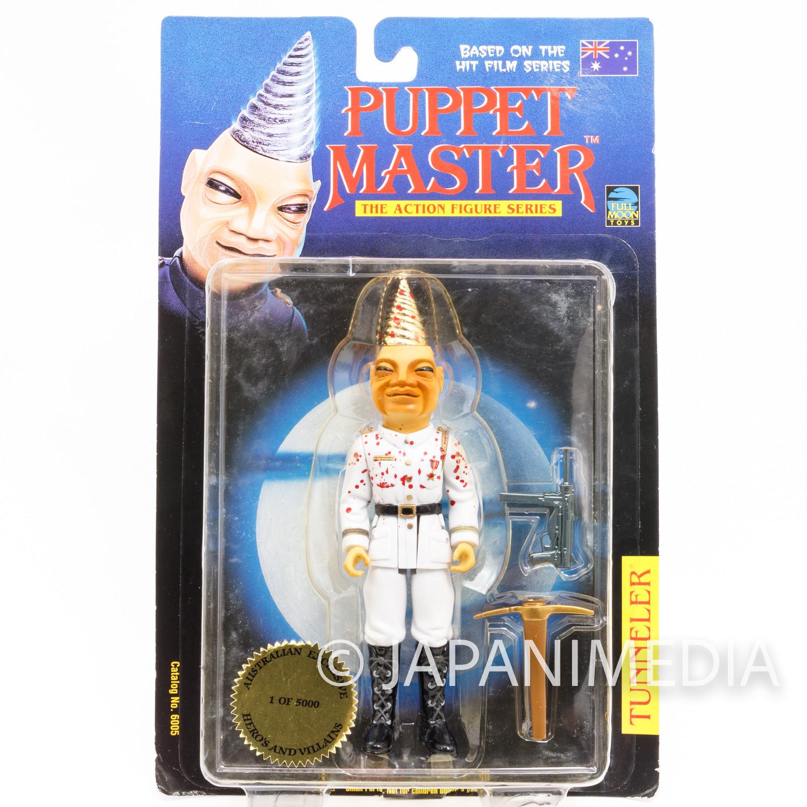 PUPPET MASTER Cruel SGT. Tunneler Figure Australian Exclusive Full Moon Toys