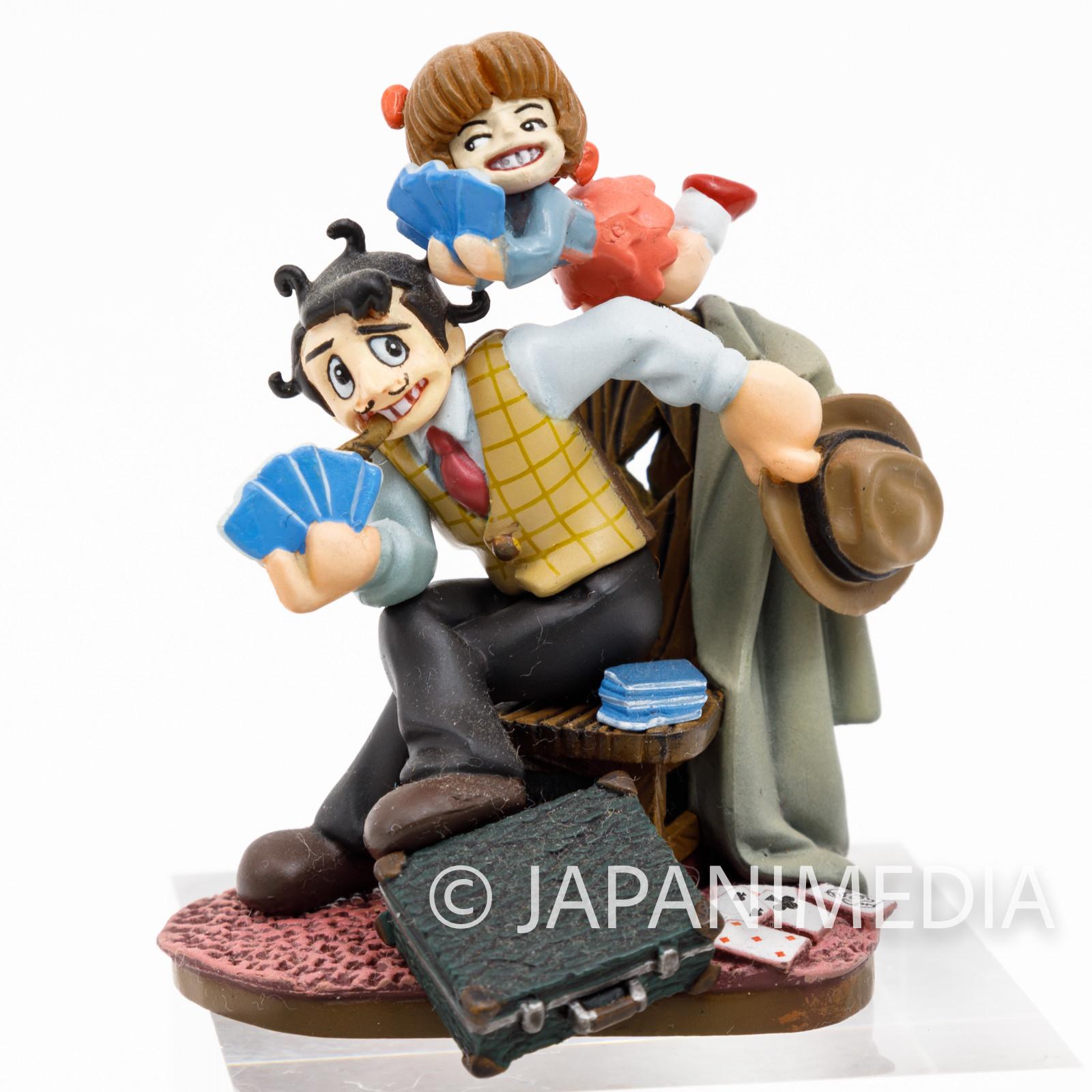 Black Jack Ham Egg & Pinoko Tezuka Osamu Mini Vignette Diorama Figure JAPAN