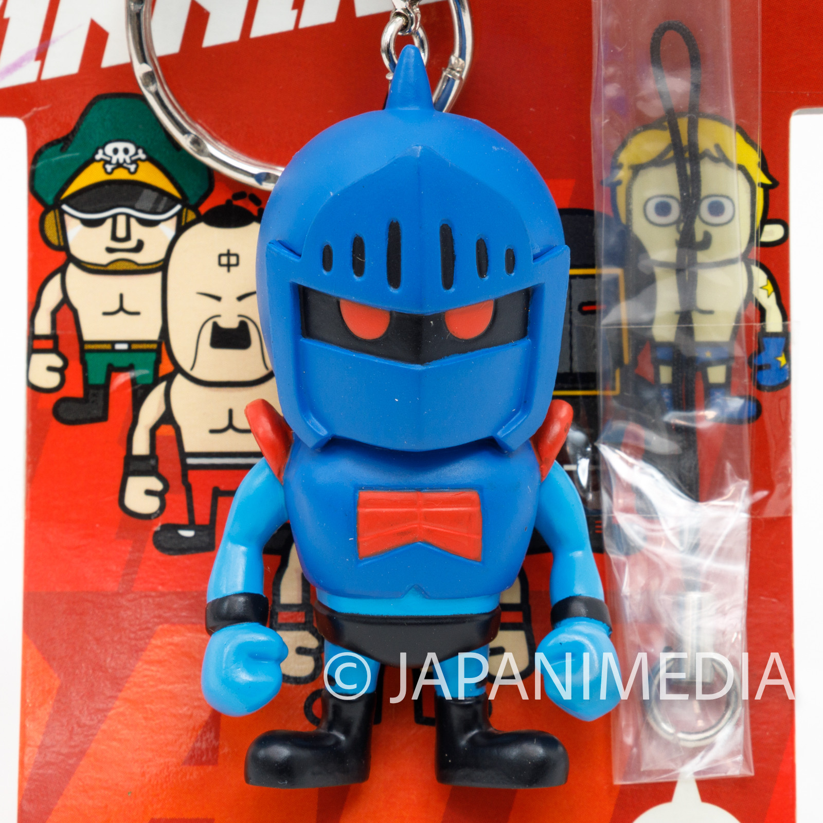 Kinnikuman x Panson Works Robin Mask Figure Keychain JAPAN ULTIMATE MUSCLE