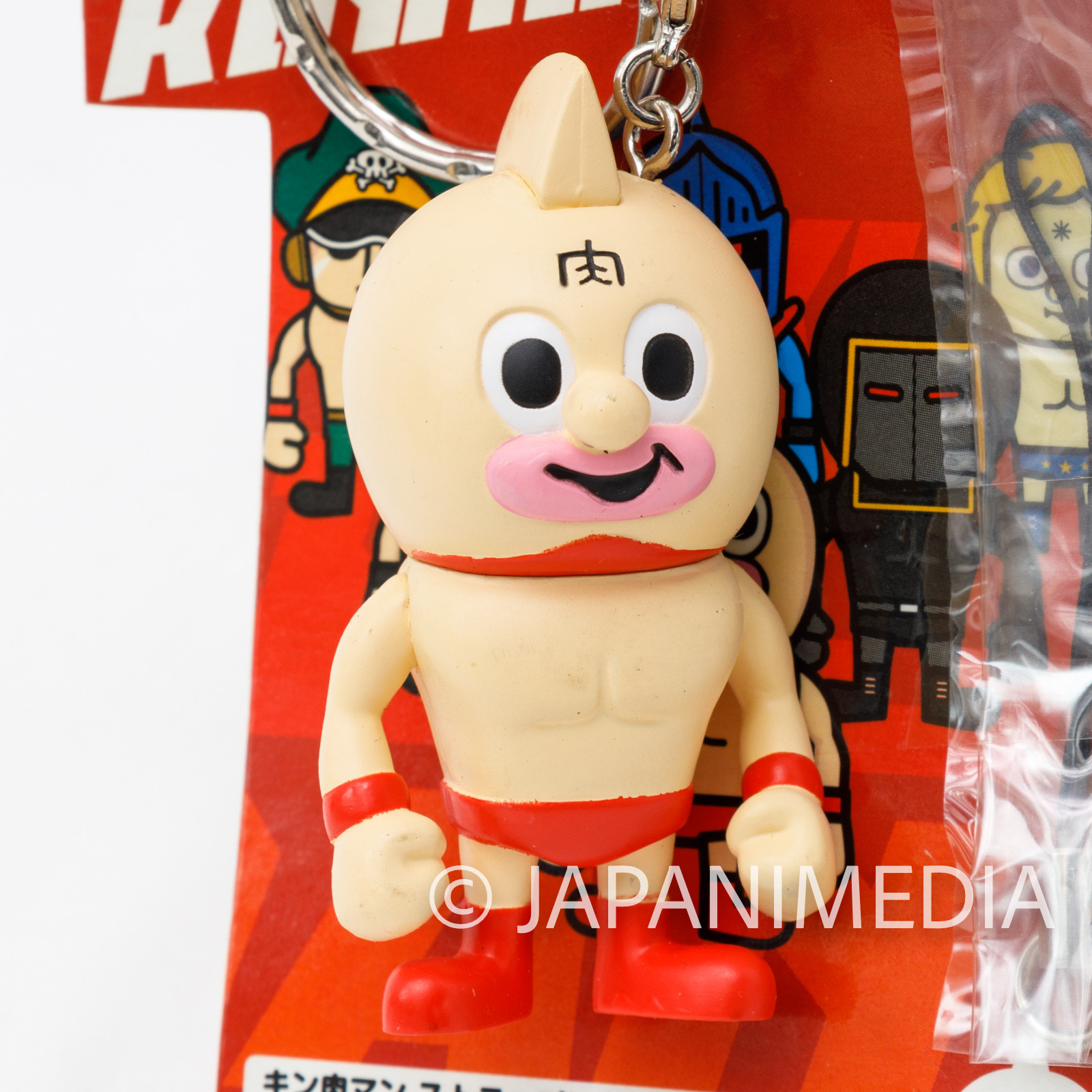 Kinnikuman x Panson Works Kinnikuman Figure Keychain JAPAN ULTIMATE MUSCLE