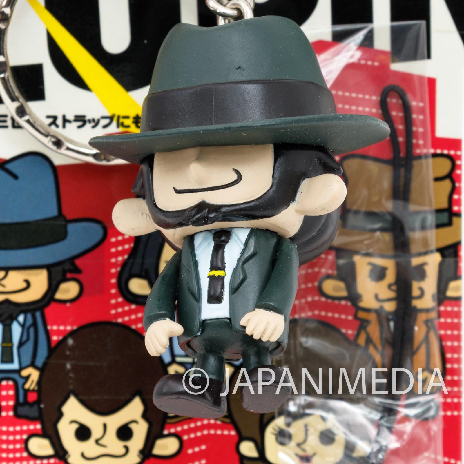 Lupin the 3rd x Panson Works Figure Keychain Jigen Daisuke Banpresto THIRD