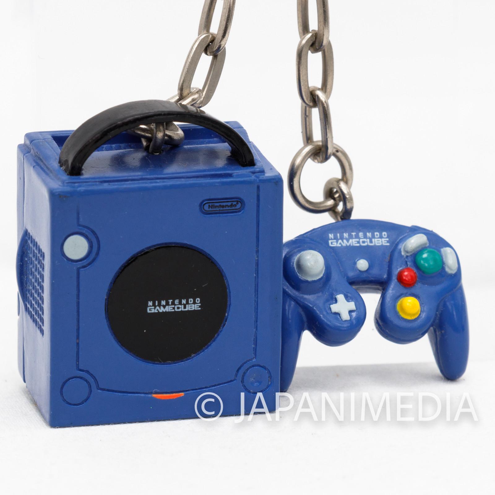 Nintendo Game Console History Miniature Figure Key Chain Game Cube JAPAN 2