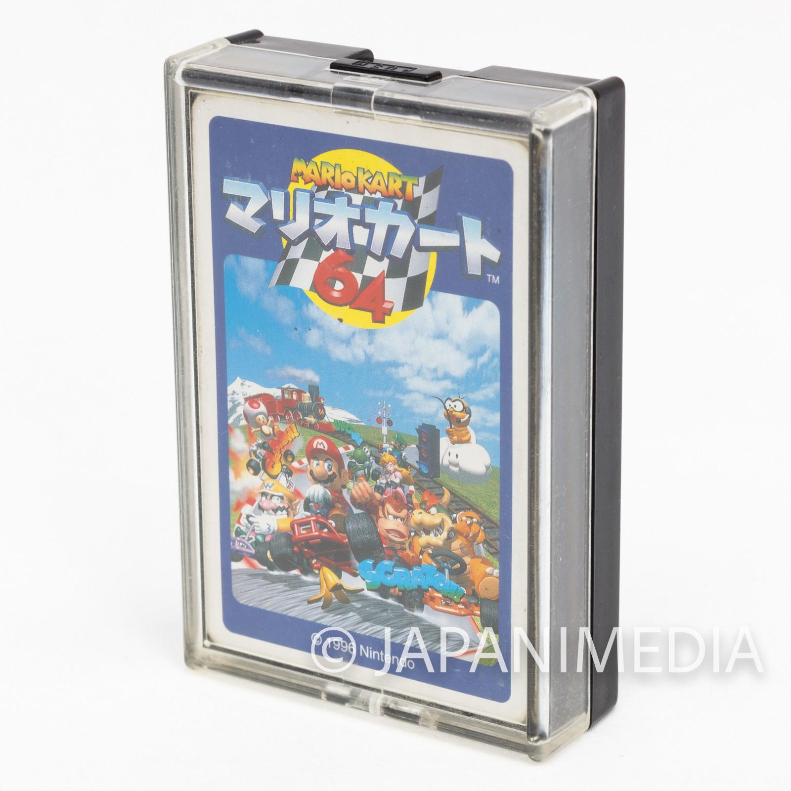 Retro RARE Mario Kart 64 Trump Playing Cards Nintendo JAPAN FAMICOM