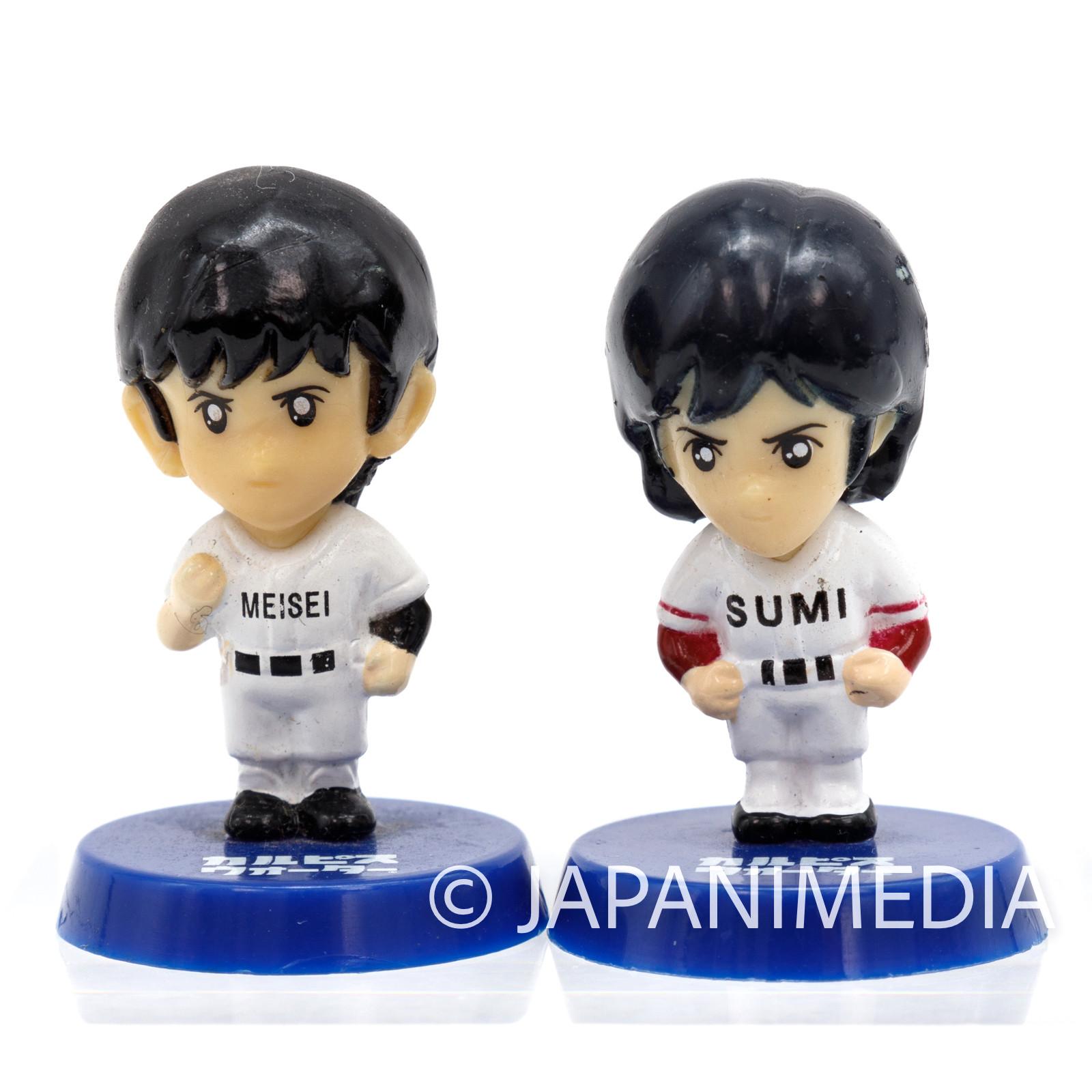 TOUCH Mini Figure 2pc Set / Kazuya Uesugi Akio Nitta Mitsuru Adachi