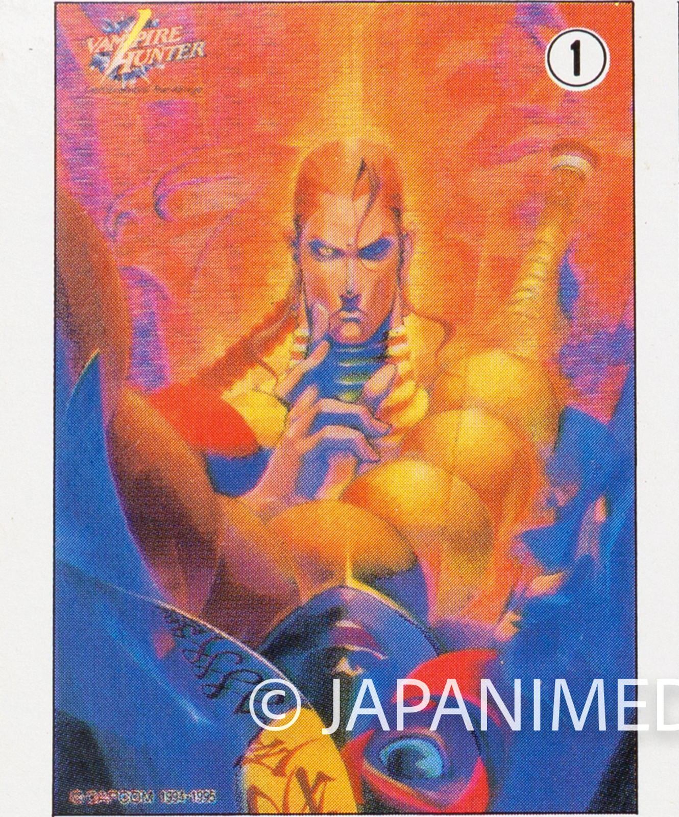 Darkstalkers (Vampire Hunter) Toy Jigsaw Puzzle 54 Pieces #1 JAPAN Capcom