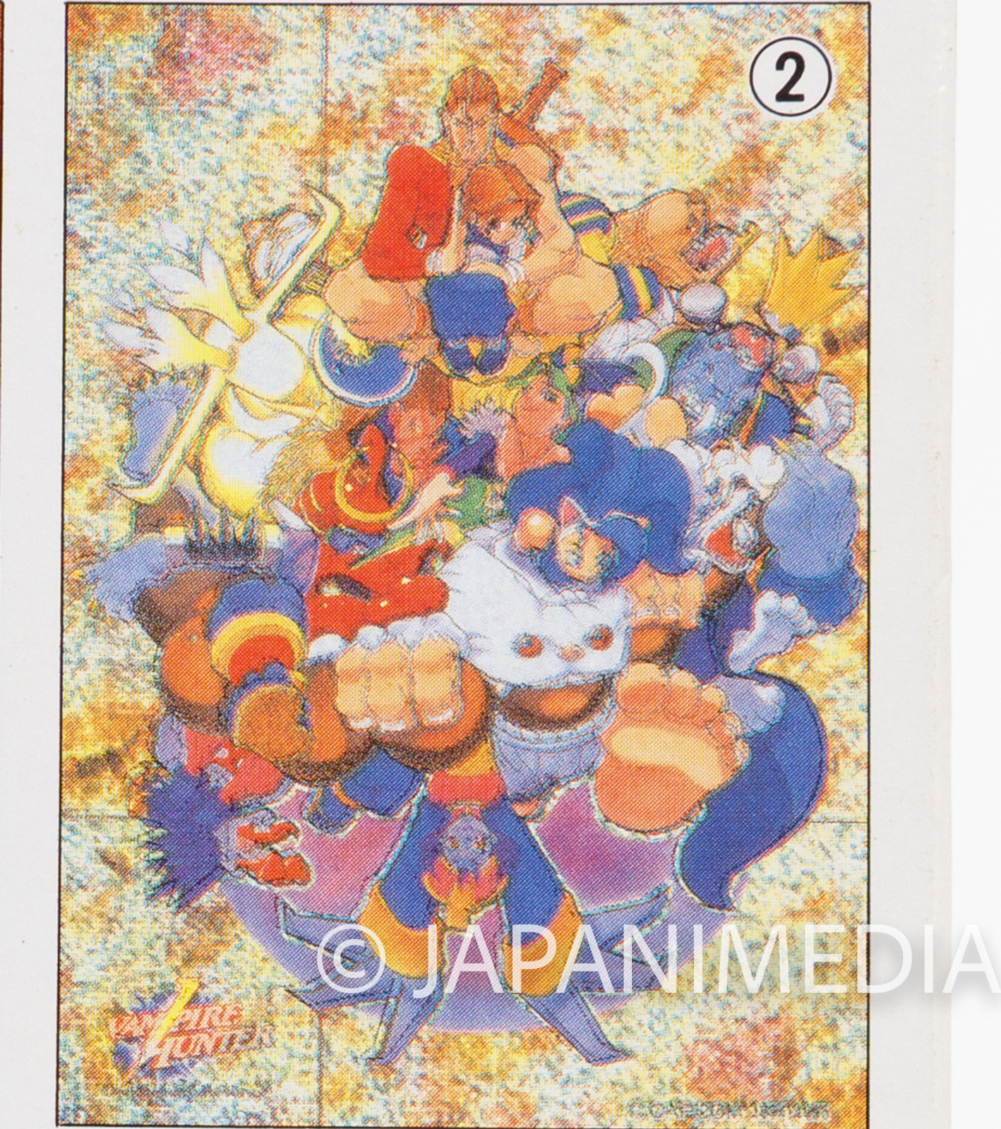 Darkstalkers (Vampire Hunter) Toy Jigsaw Puzzle 54 Pieces #2 JAPAN Capcom
